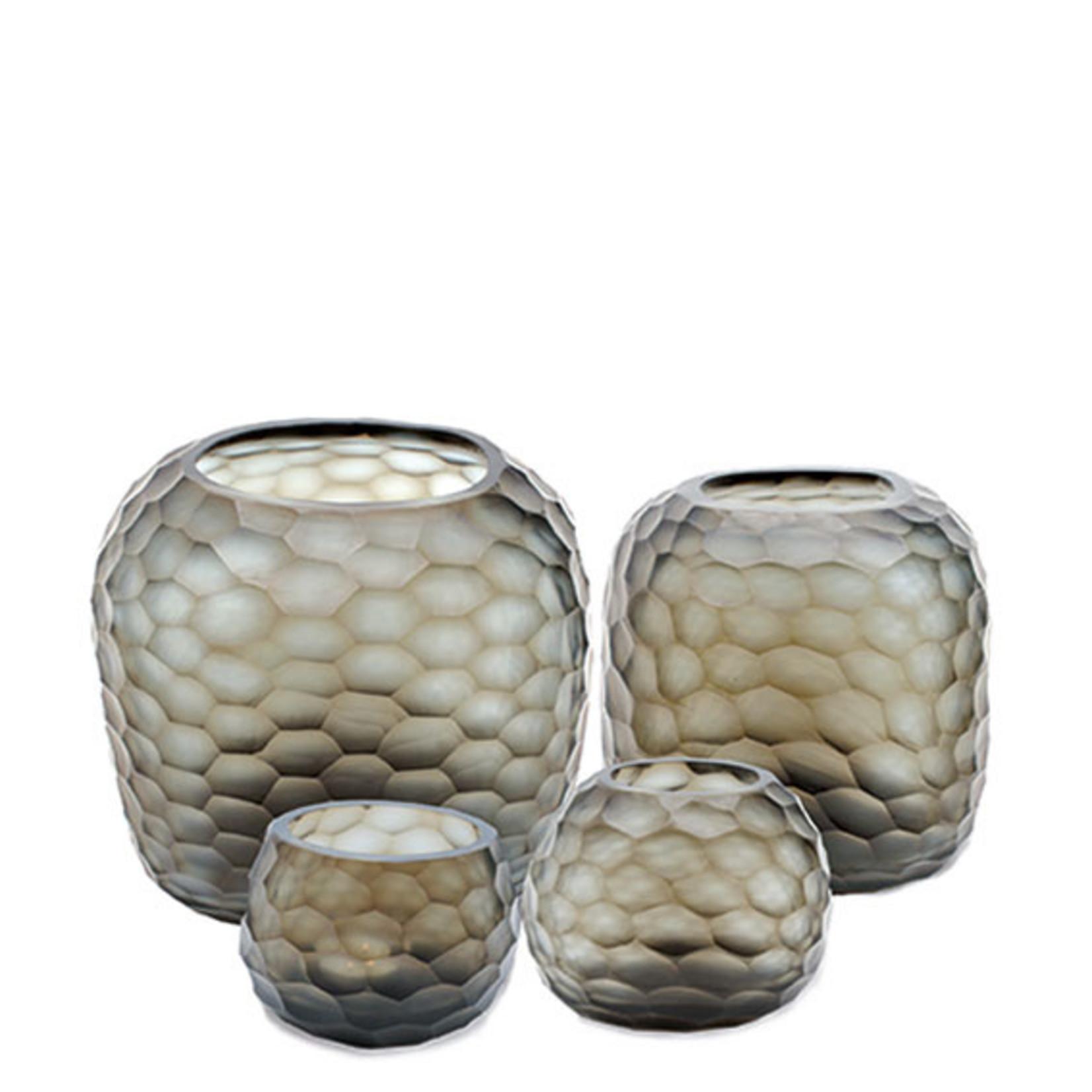 Guaxs Vase Somba L   Indigo / Gris Fumée