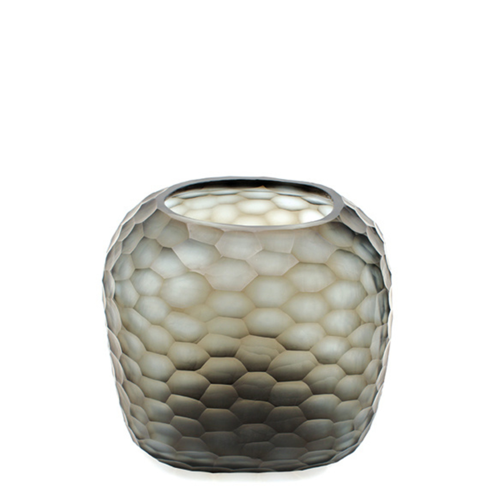 Guaxs Vase Somba L | Indigo / Smoke Gray