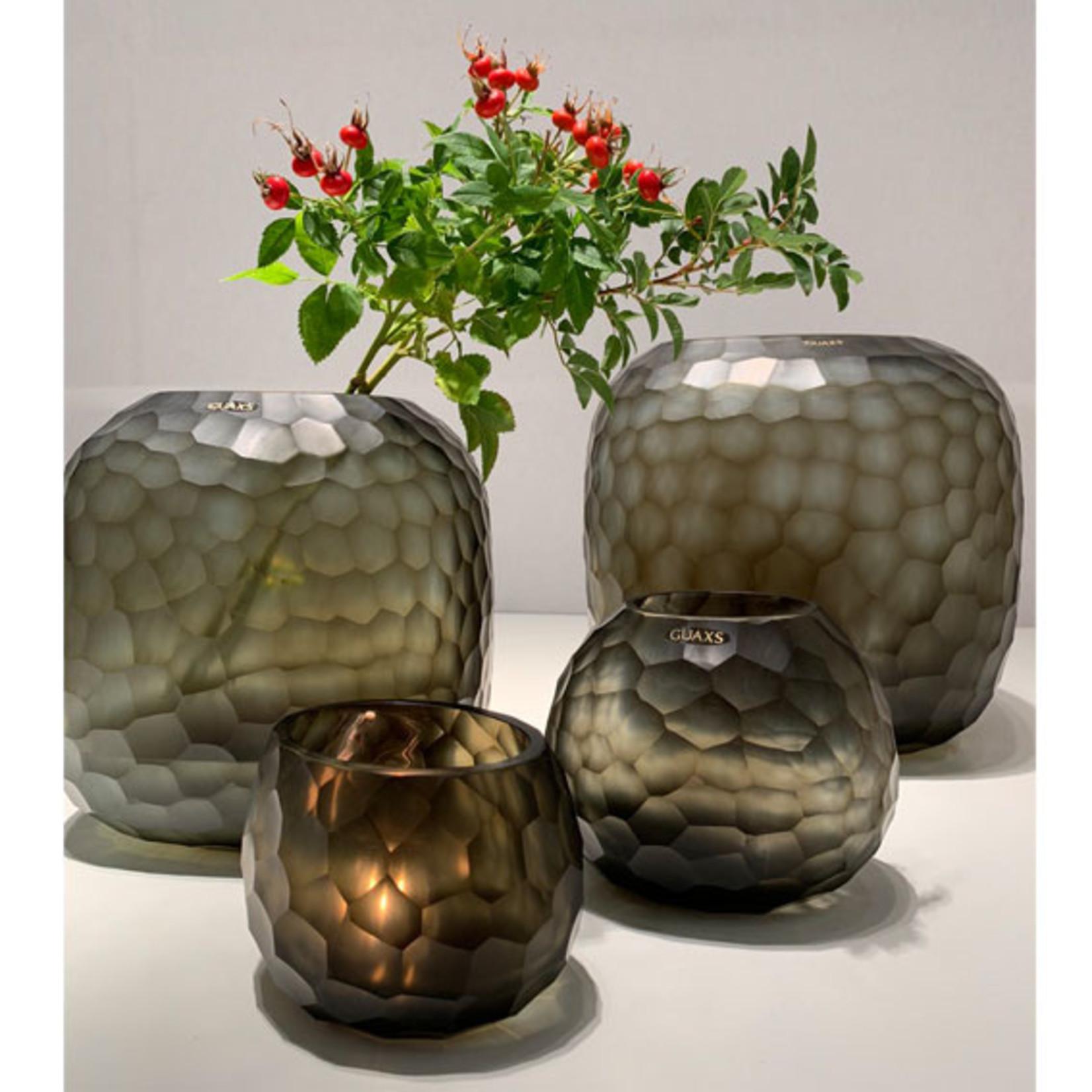 Guaxs Vase Somba M   Indigo / Smoke Gray
