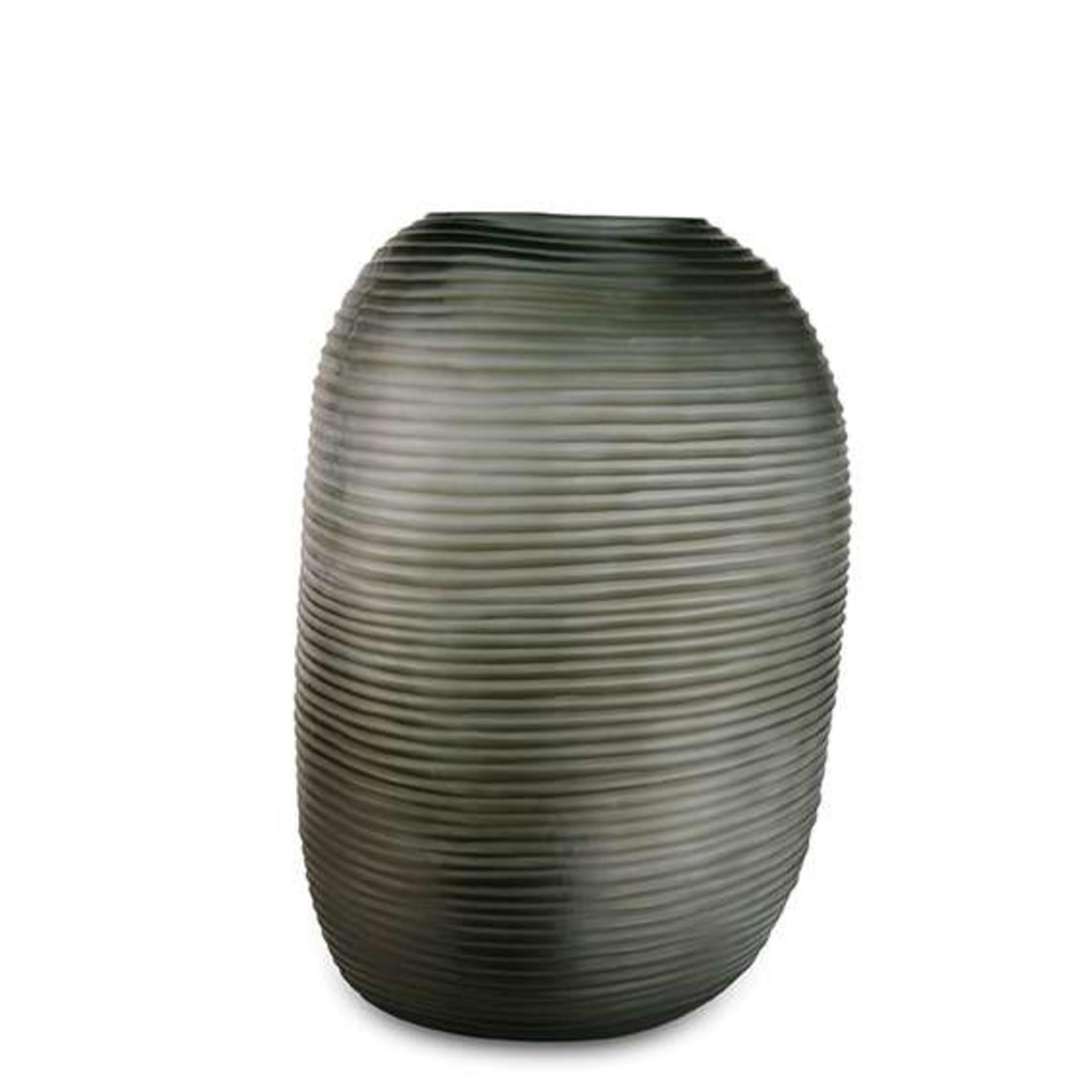 Guaxs Vase Patara Tall   Indigo / Smoke Gray