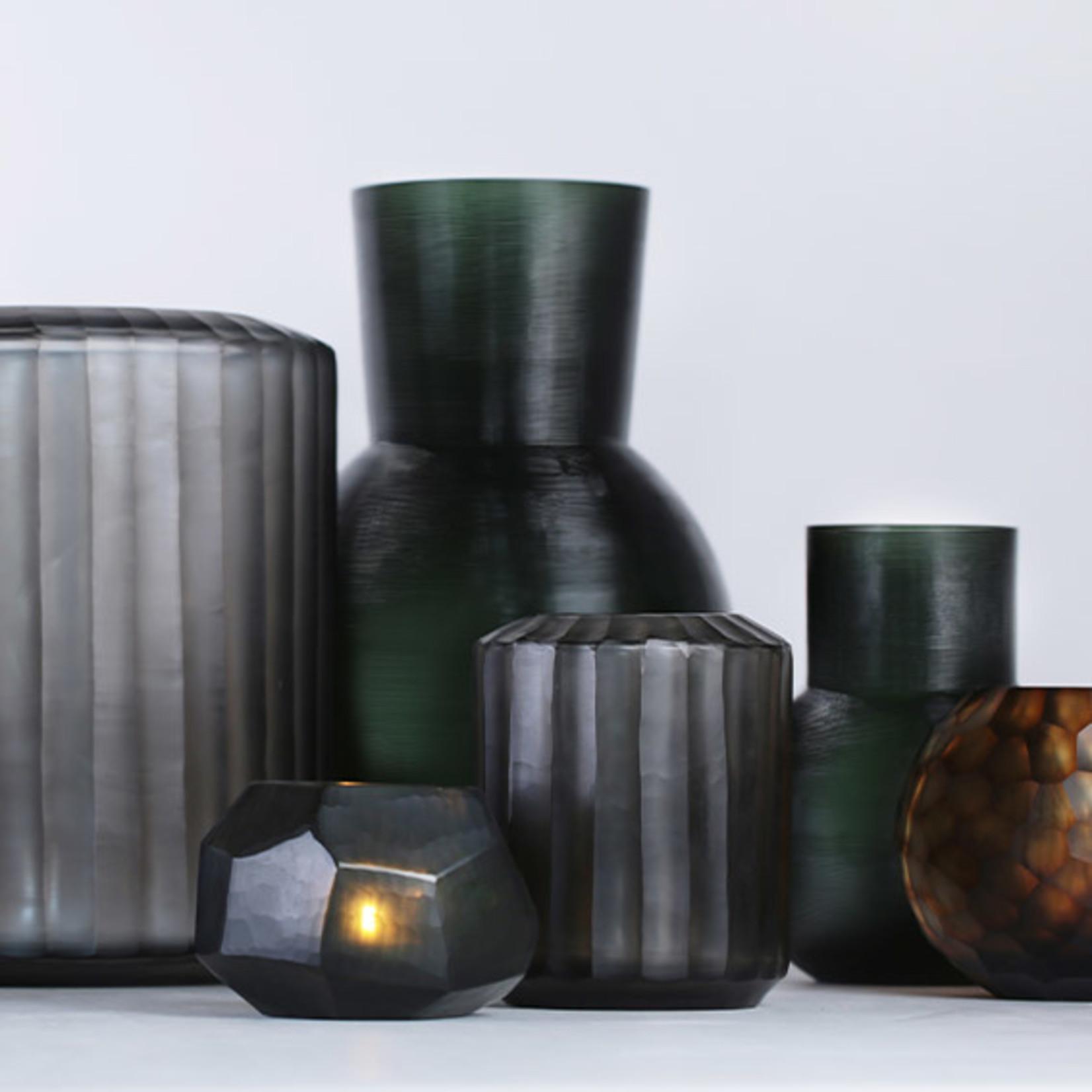 Guaxs Vase Omar S | Indigo / Gris Fumée
