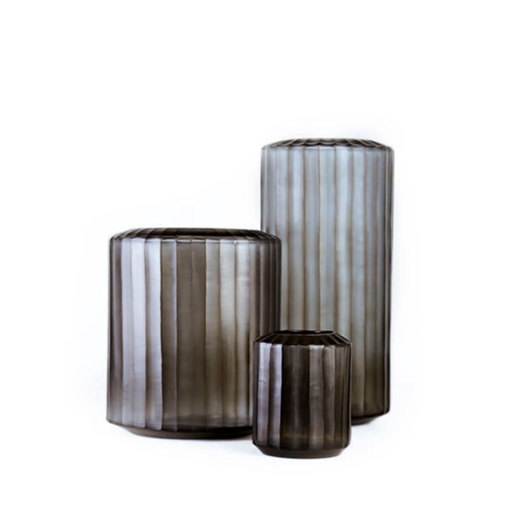 Guaxs Vase Omar S | Indigo / Smoke Gray