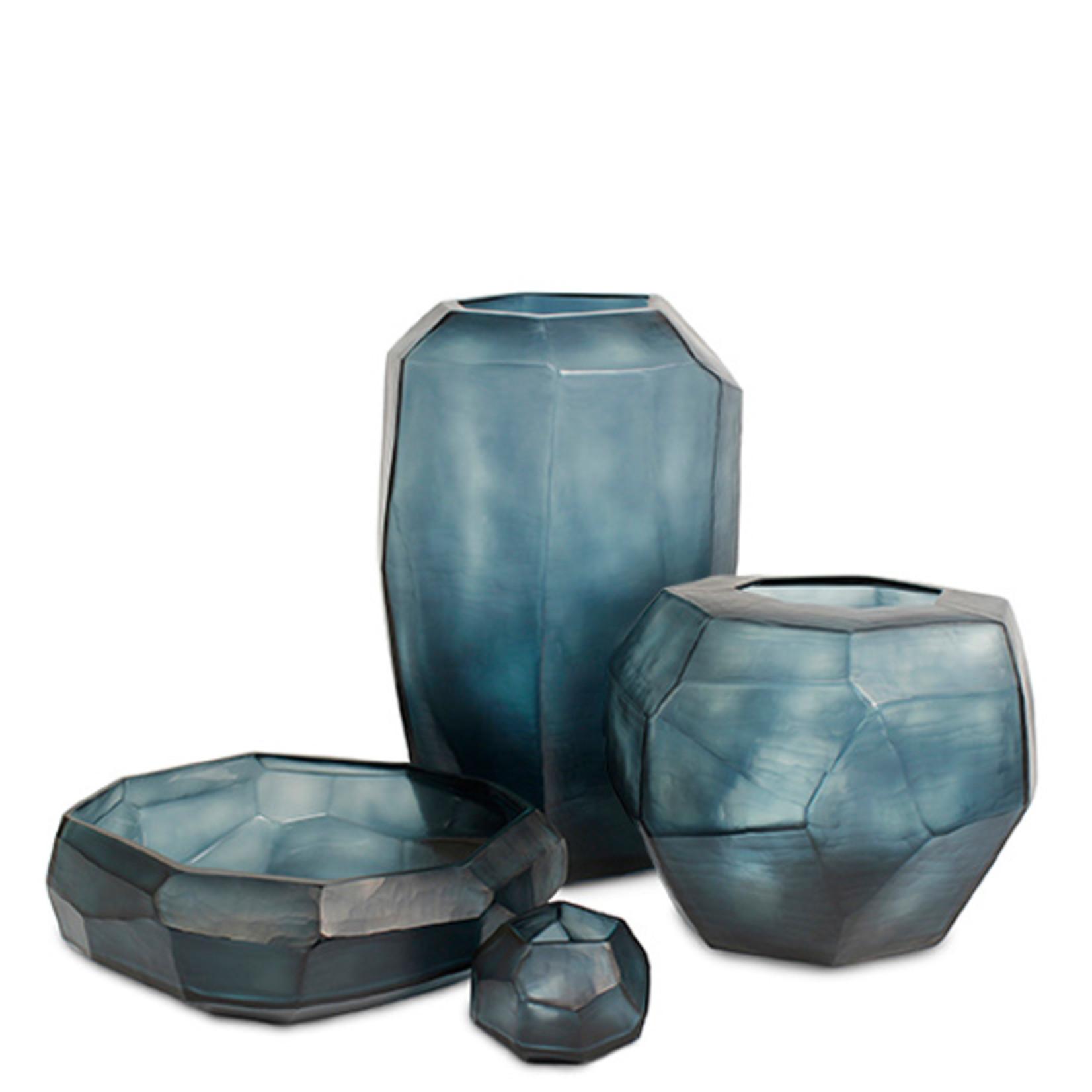 Guaxs Schaal Cubistic   Ocean Blue / Indigo