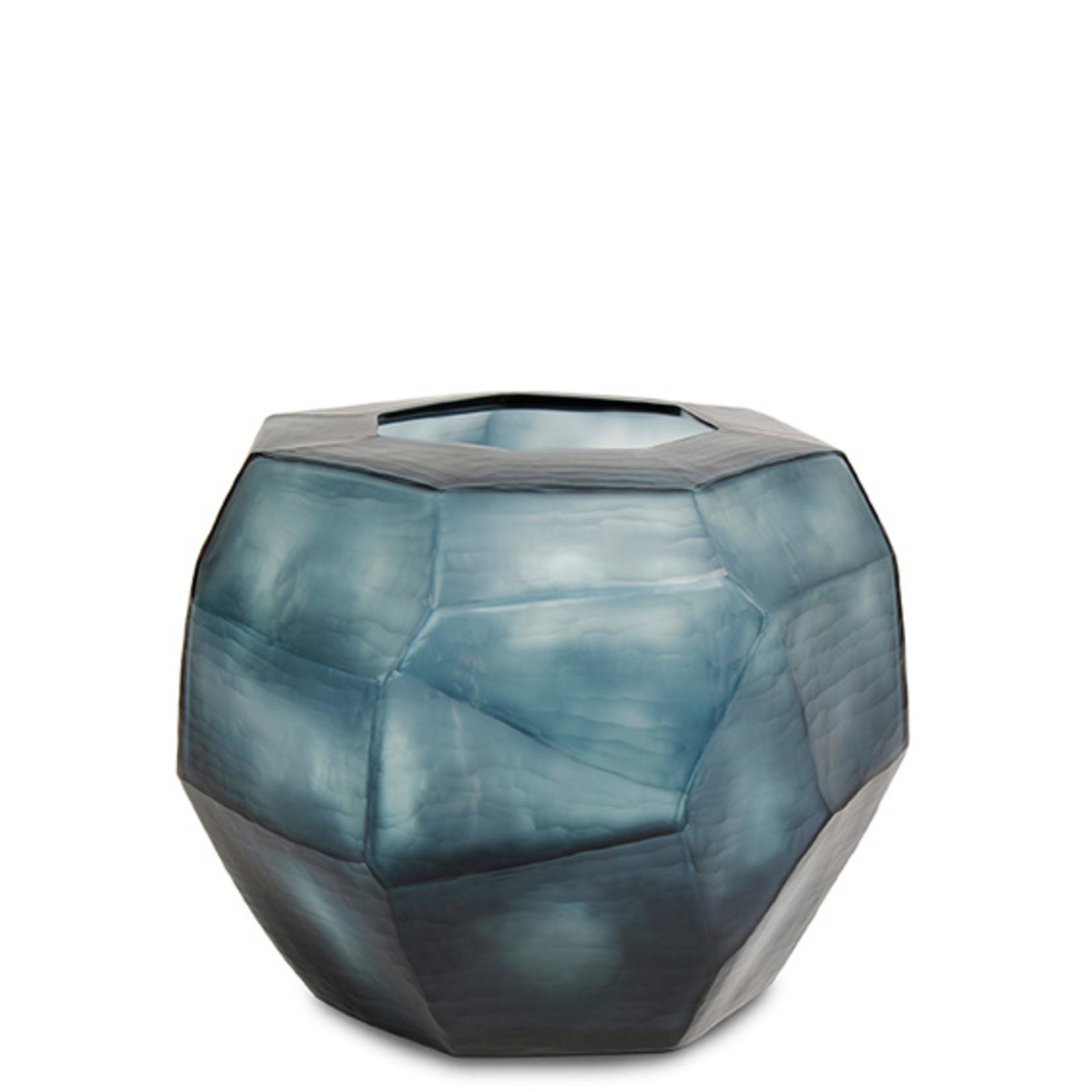 Guaxs Vaas Cubistic Round | Ocean Blue / Indigo