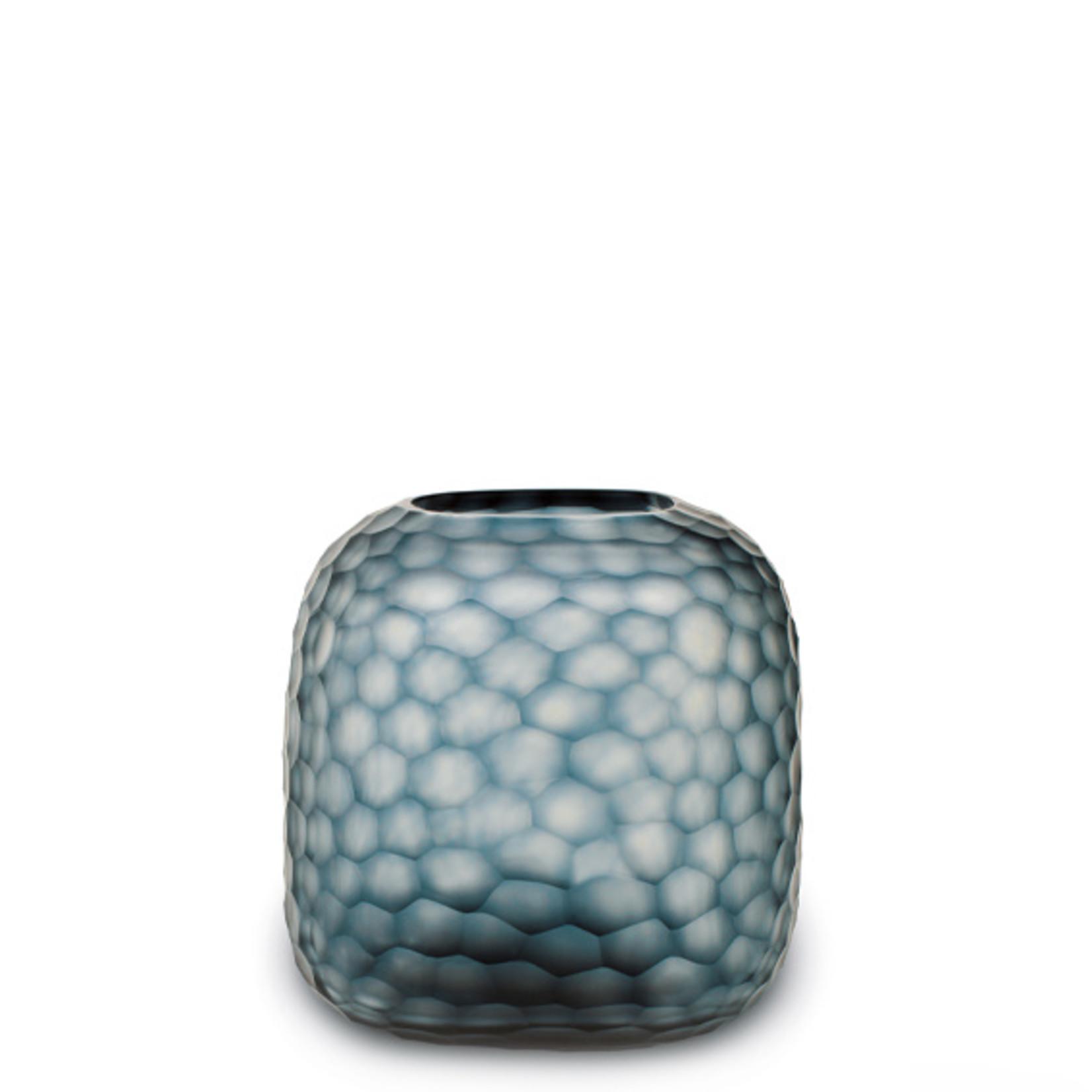 Guaxs Vase Somba M | Bleu océan / Indigo