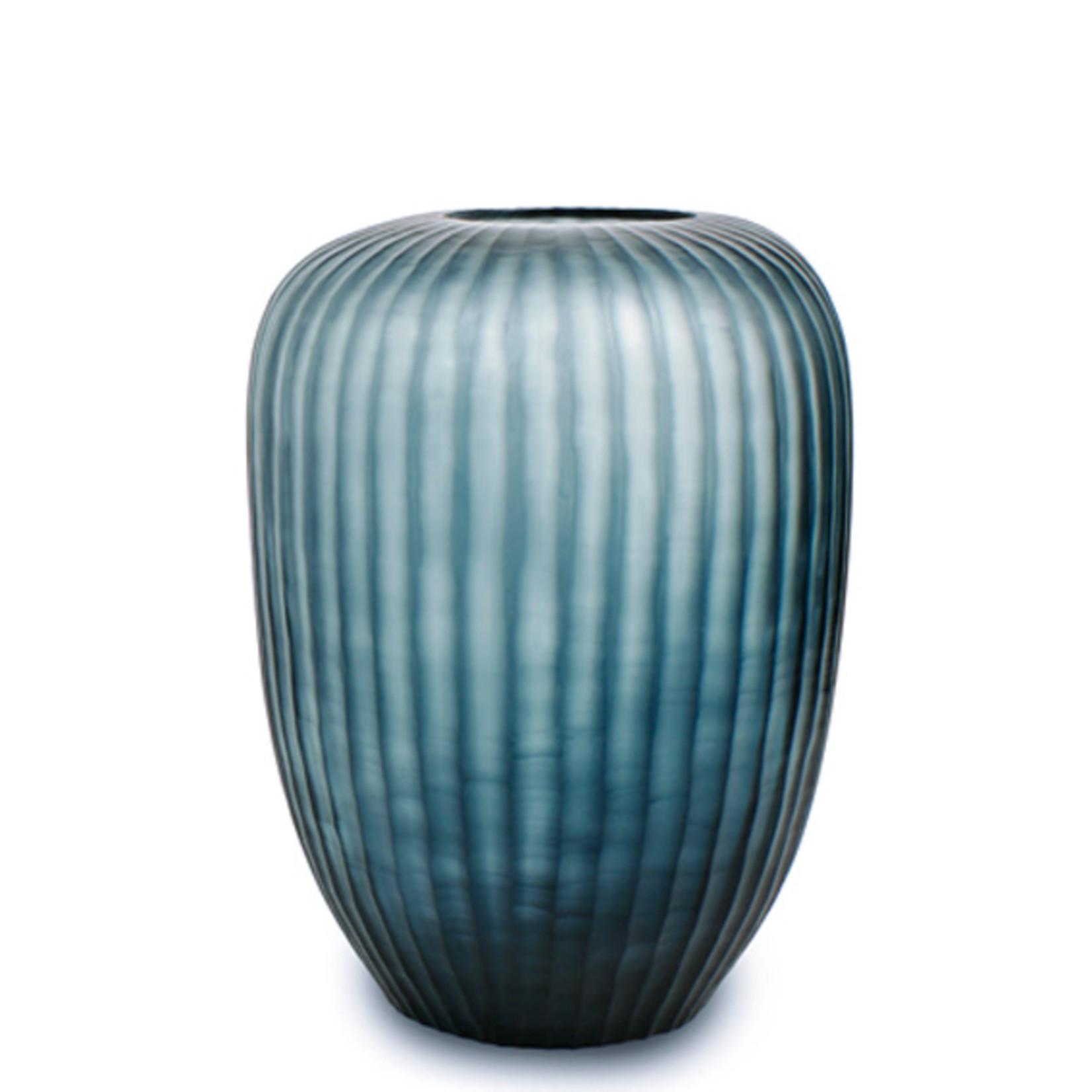 Guaxs Vase Gobi Tall   Ocean Blue / Indigo