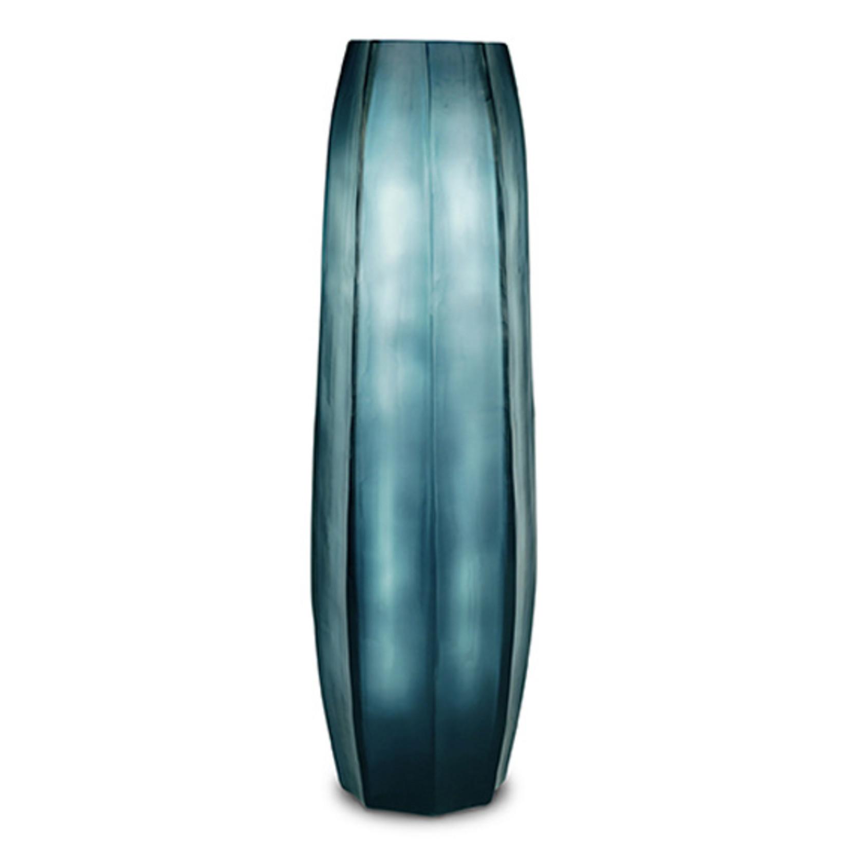 Guaxs Vase Koonam Tall   Ocean Blue / Indigo