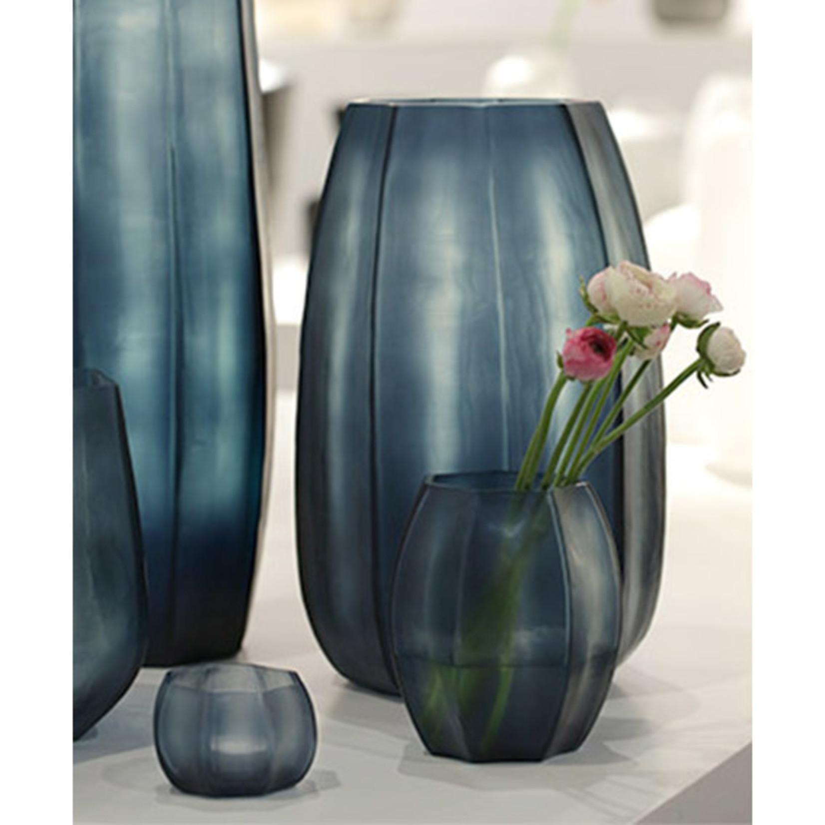 Guaxs Vase Koonam XL | Ocean Blue / Indigo