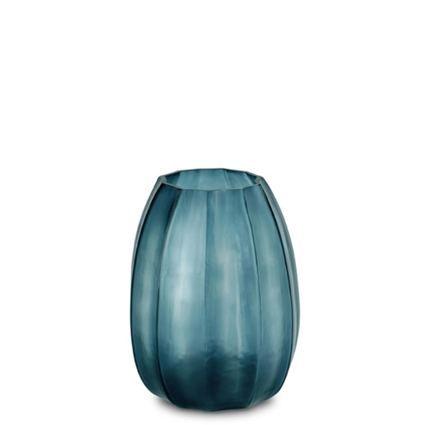 Guaxs Vase Koonam M   Ocean Blue / Indigo