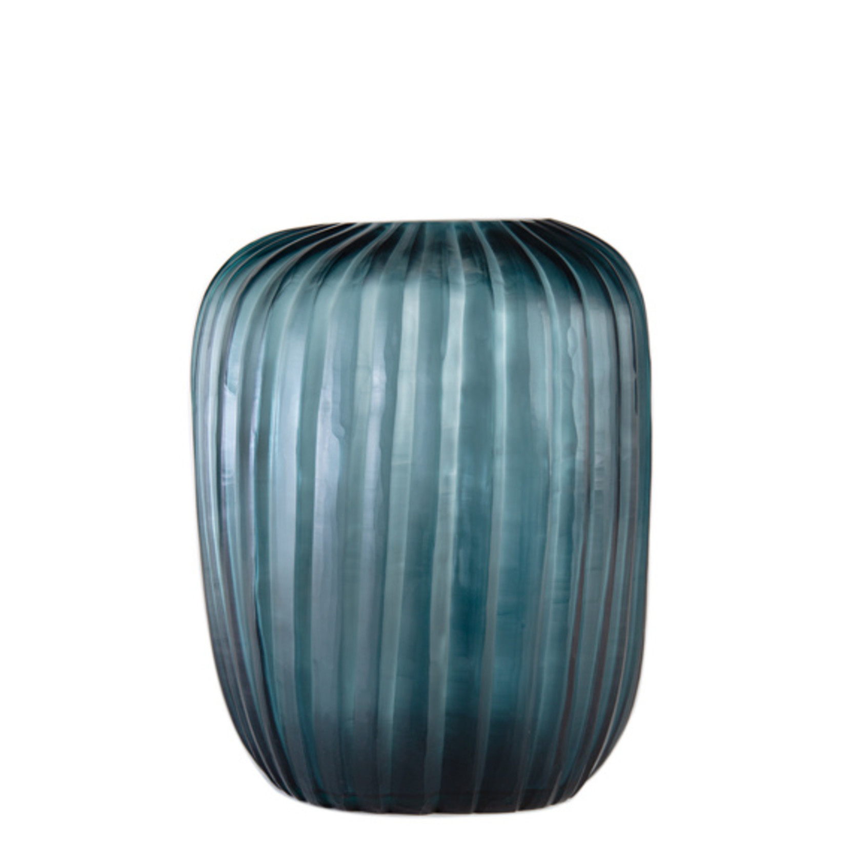 Guaxs Vase Manakara Tall   Ocean Blue / Indigo