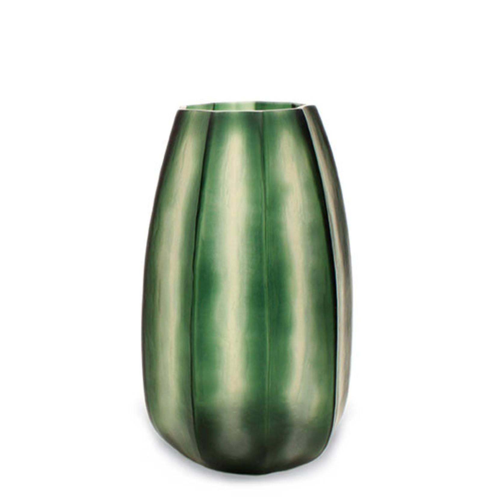 Guaxs Vase Koonam XL | Gris acier clair / Gris acier noir