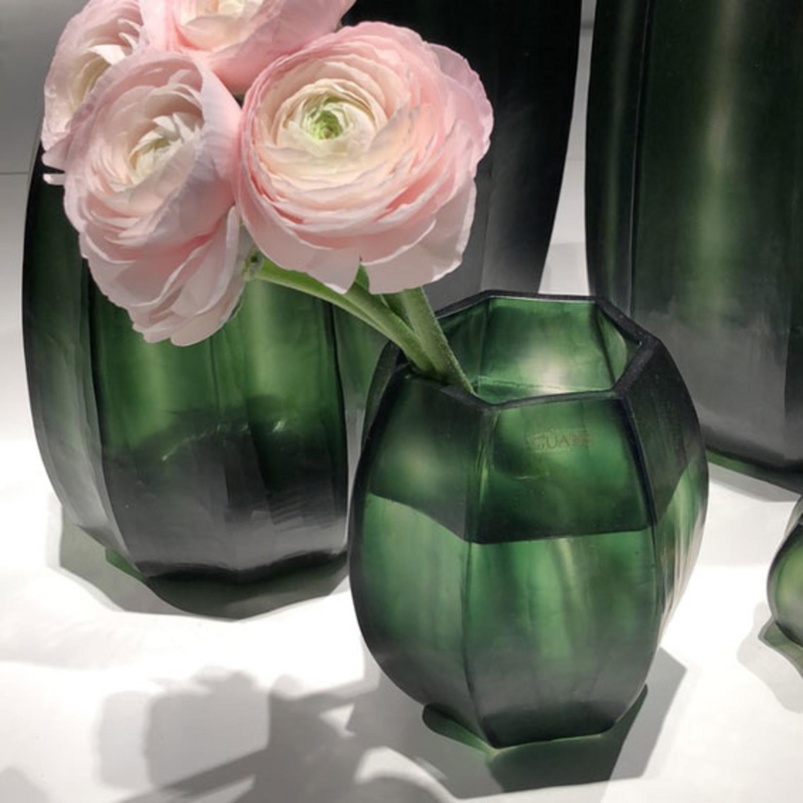 Guaxs Vase Koonam S   Light Steelgrey / Black Steelgrey