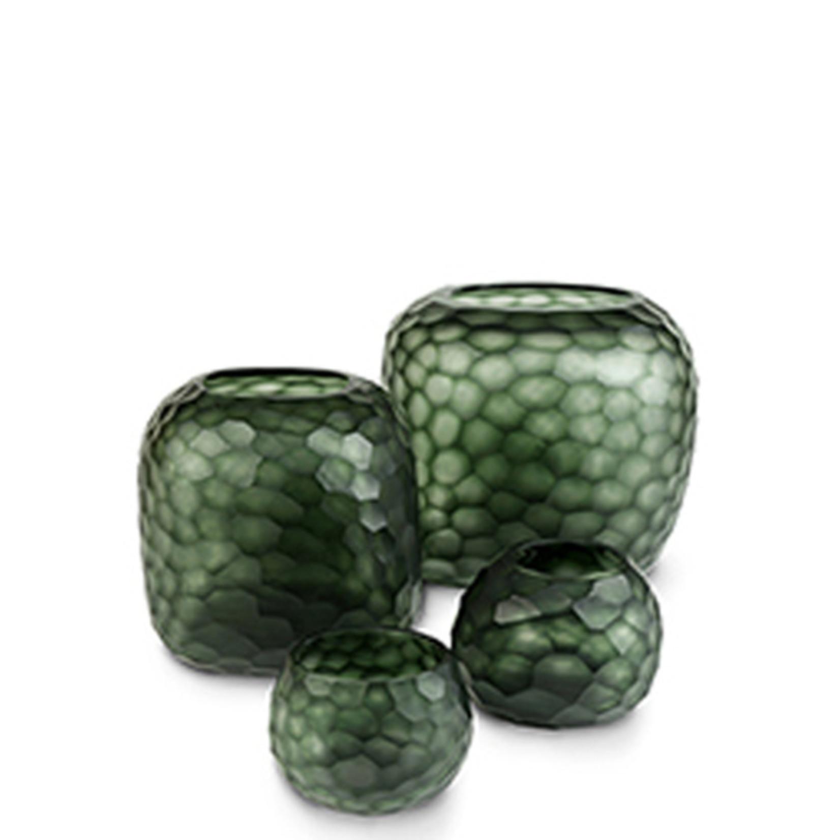 Guaxs Vase Somba M   Light Steelgrey / Black Steelgrey