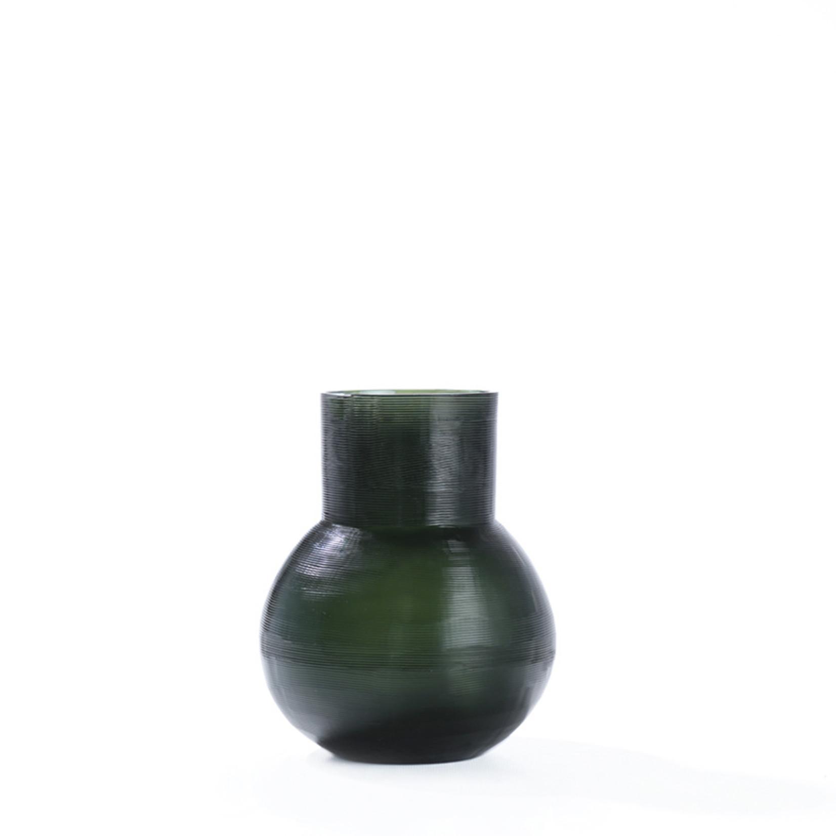 Guaxs Vase Yeola S   Black / Steel Gray