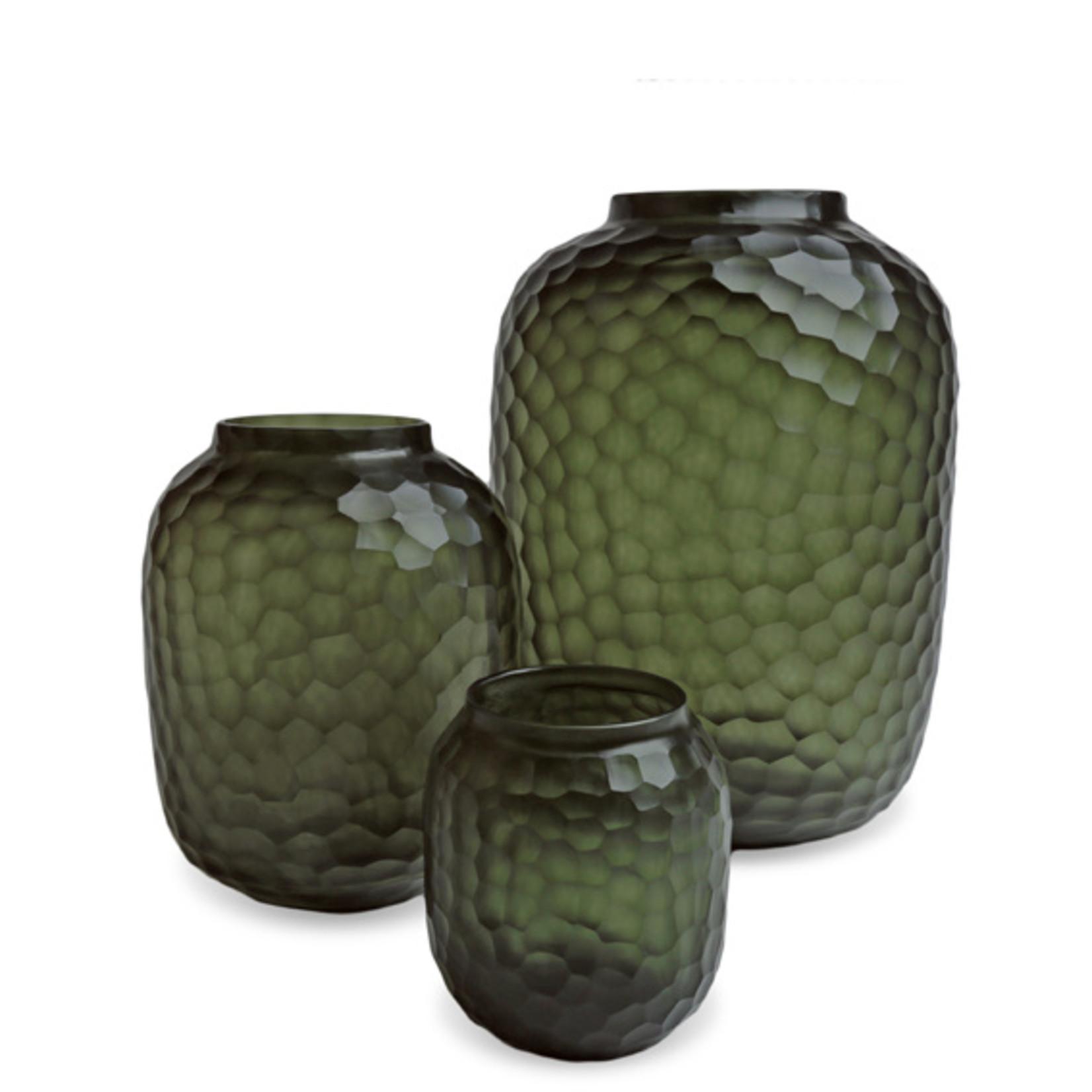 Guaxs Vase Bambola M | Black / Steel Gray