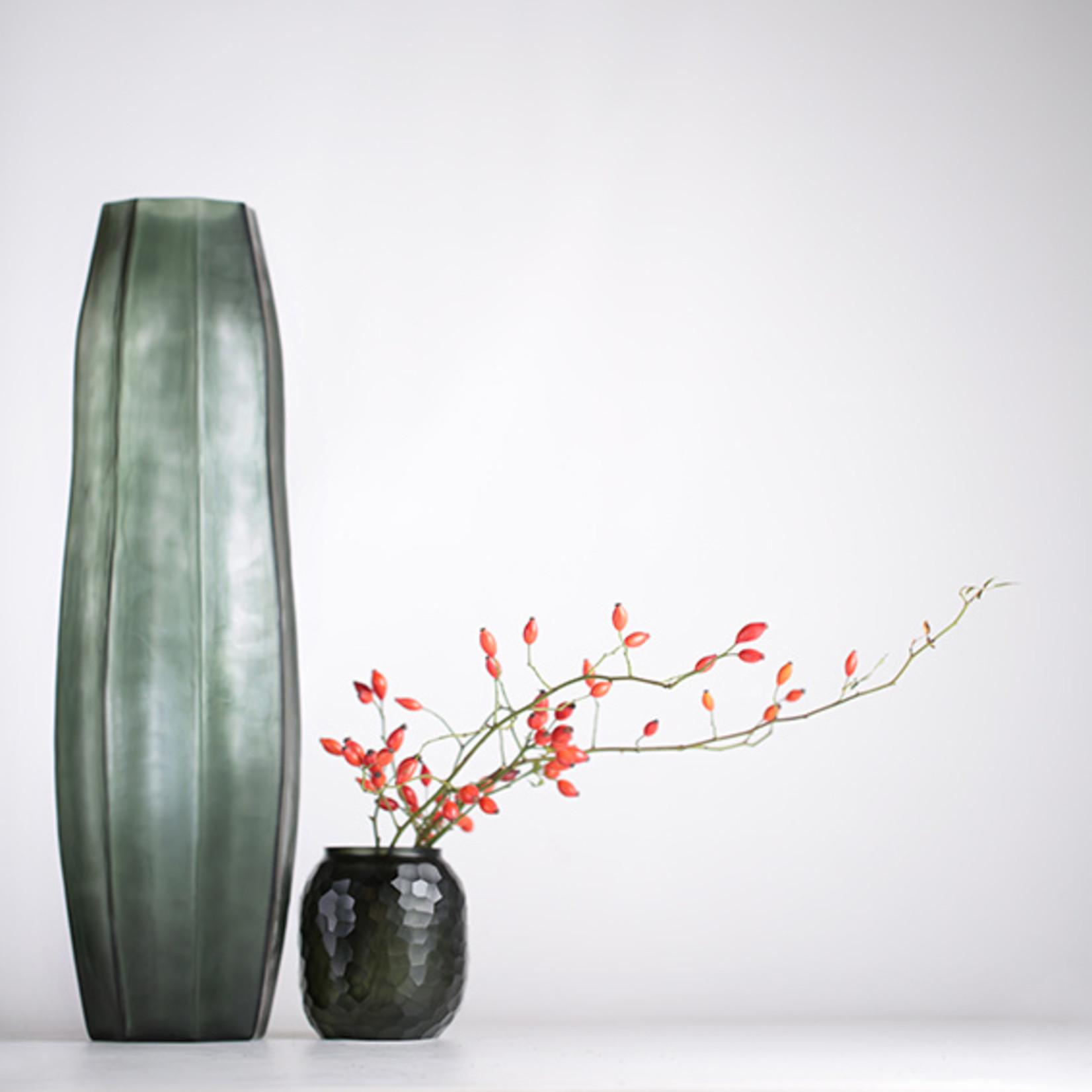 Guaxs Vase Bambola S   Black / Steelgrey