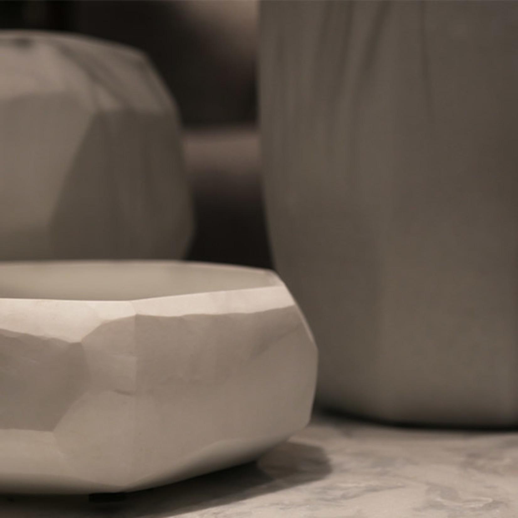 Guaxs Vase Cubistic Tall | Opal