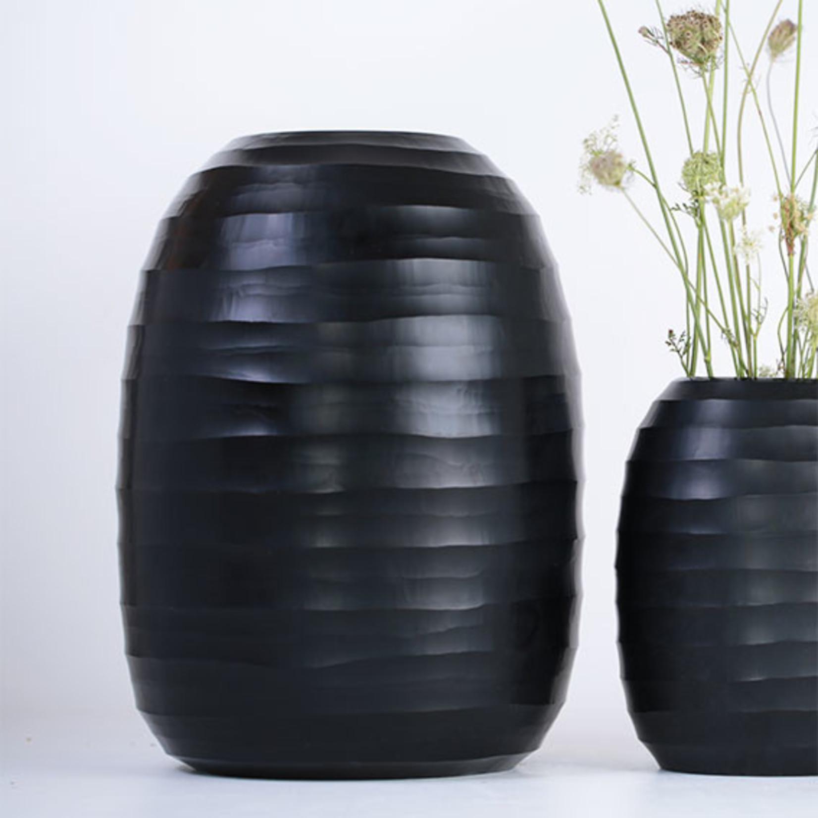 Guaxs Vase Ventre Énorme | noir