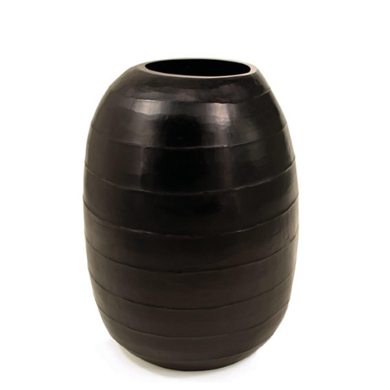 Guaxs Vase Belly Huge   black