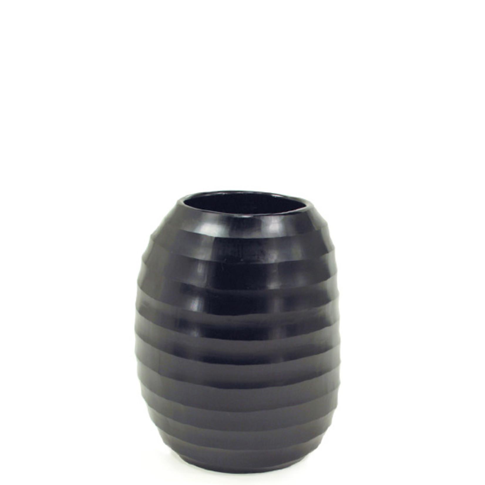 Guaxs Vase Ventre XL | noir