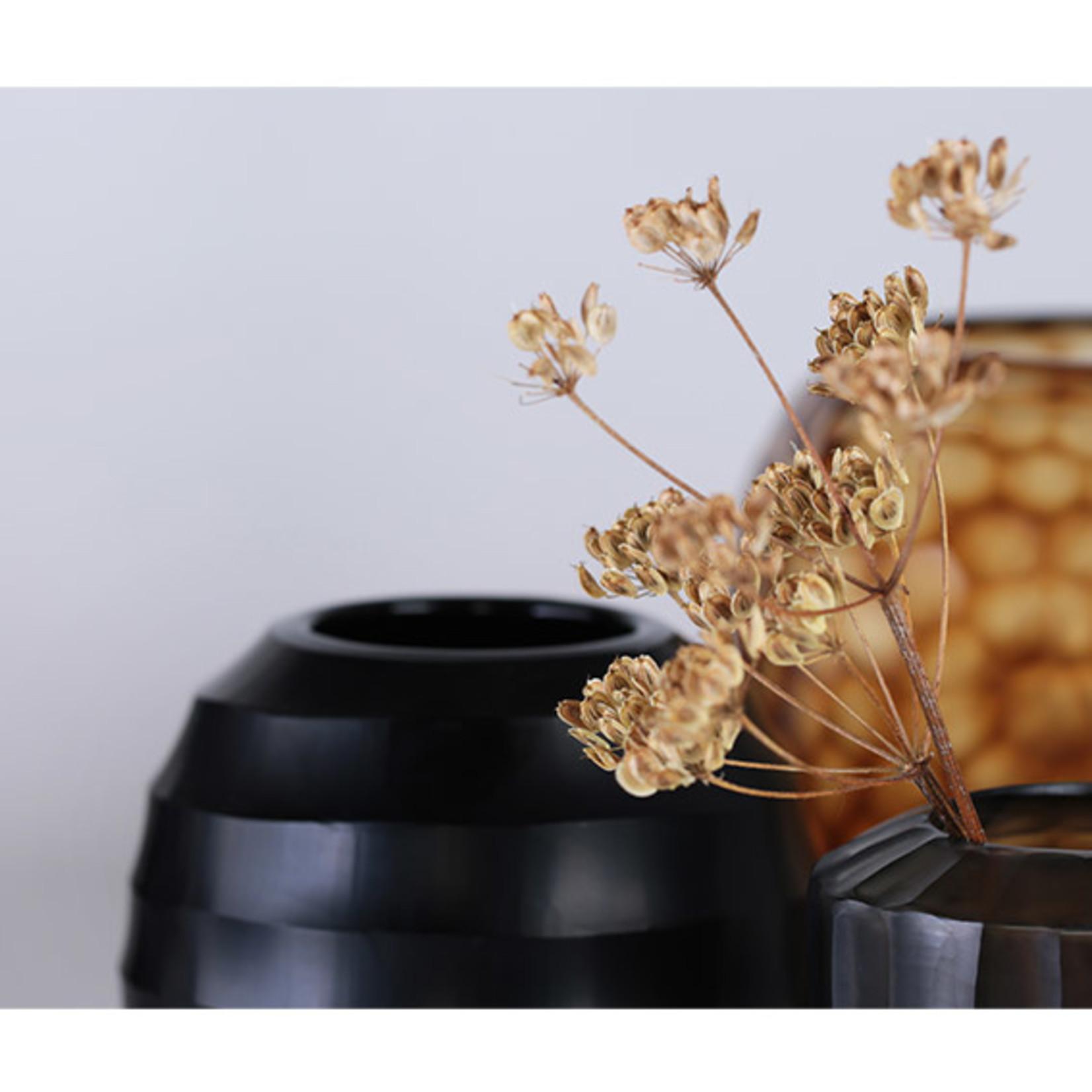 Guaxs Vase Ventre L | noir