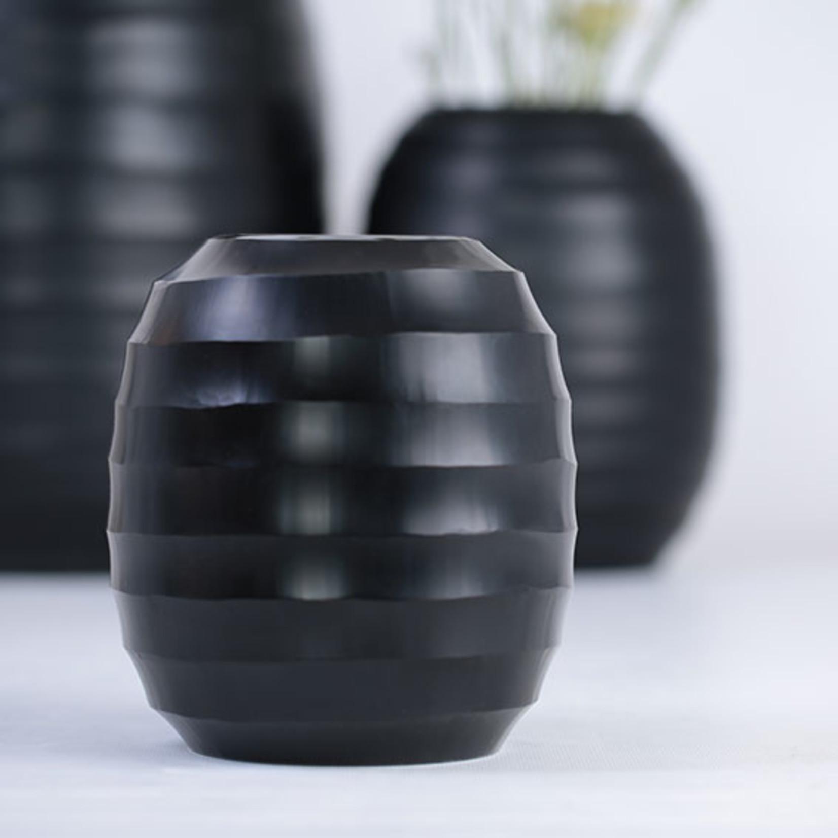 Guaxs Vase Belly L   black