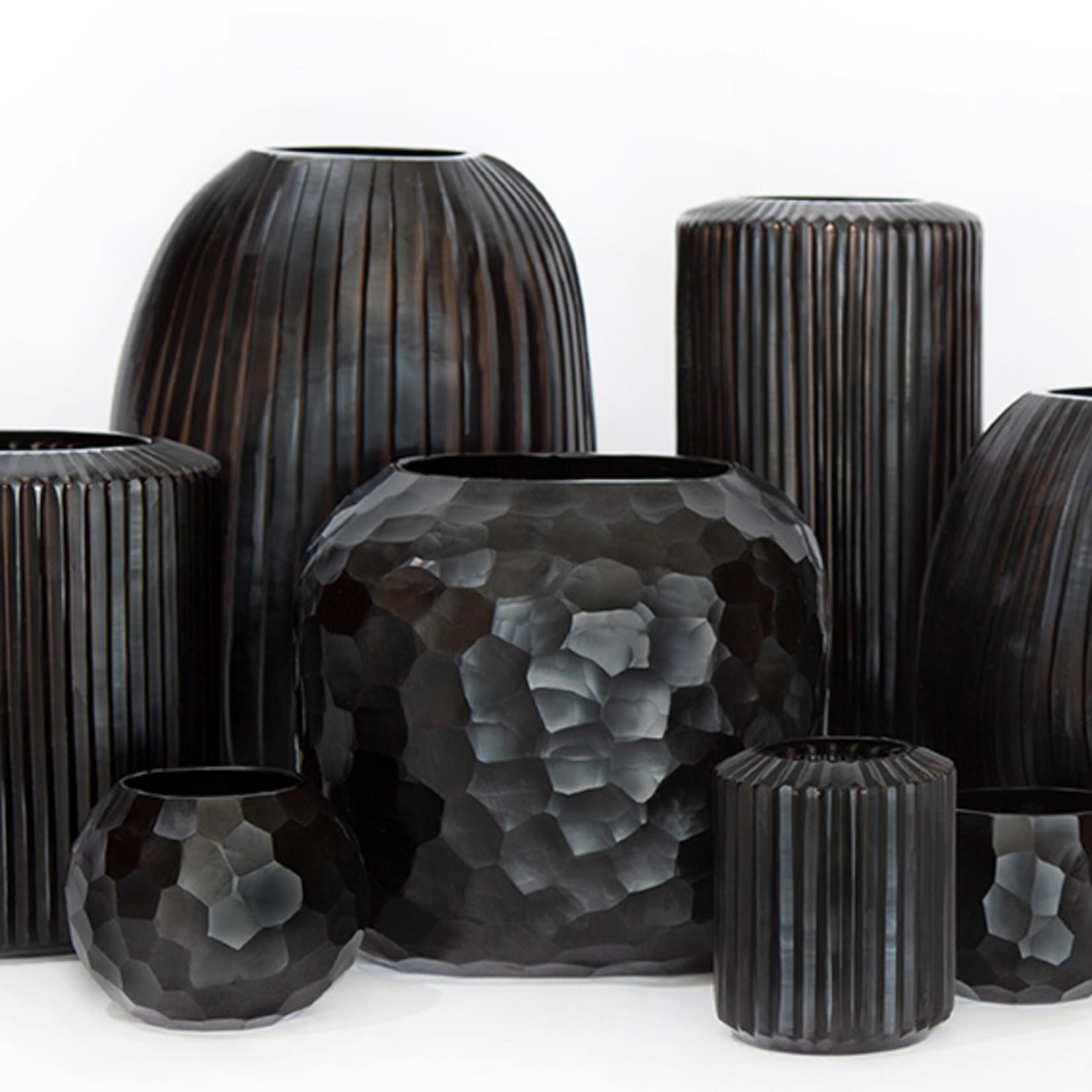 Guaxs Vase Somba L | black
