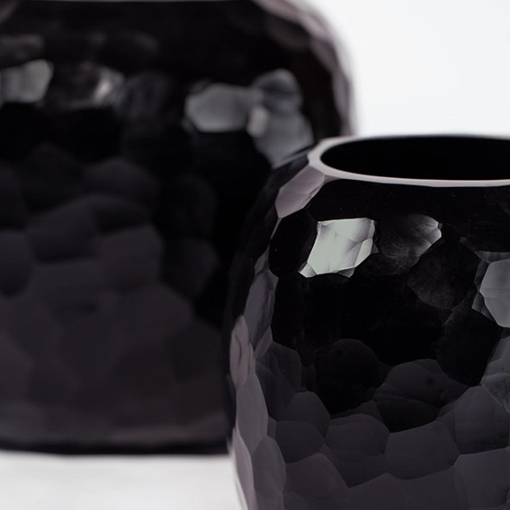 Guaxs Vase Somba M   noir