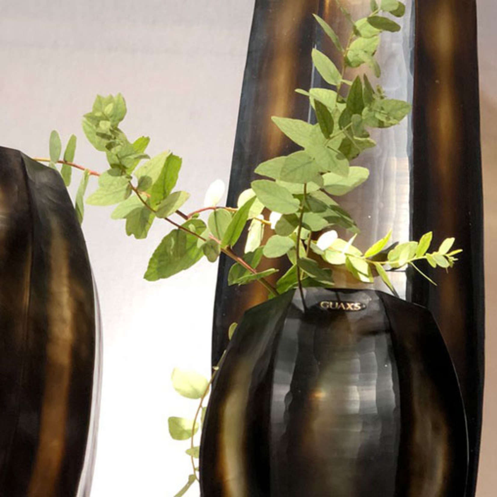 Guaxs Vase Koonam S   Butter / Brown