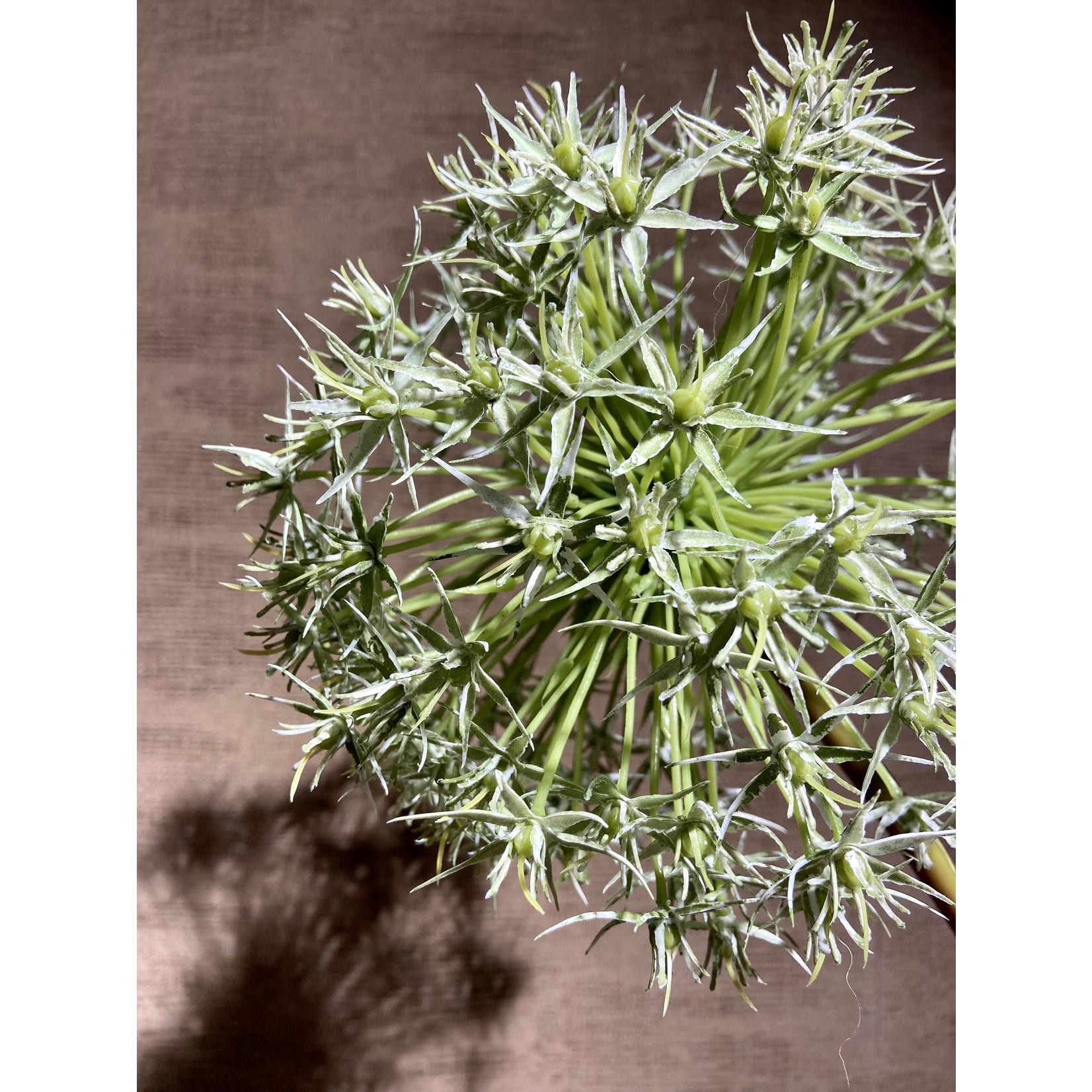 Silk-ka Allium Steel Groen | 104 cm