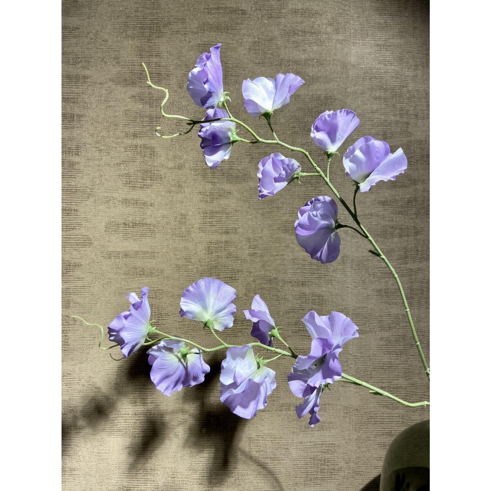 Silk-ka Branche Lathyrus Violet | 100cm