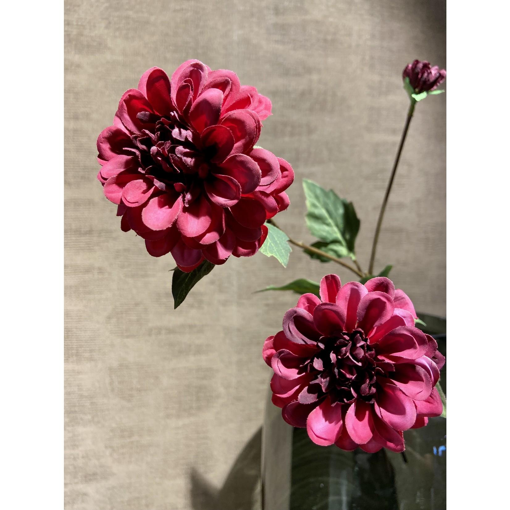 Silk-ka Dahlia Branch Beauty | 56 cm