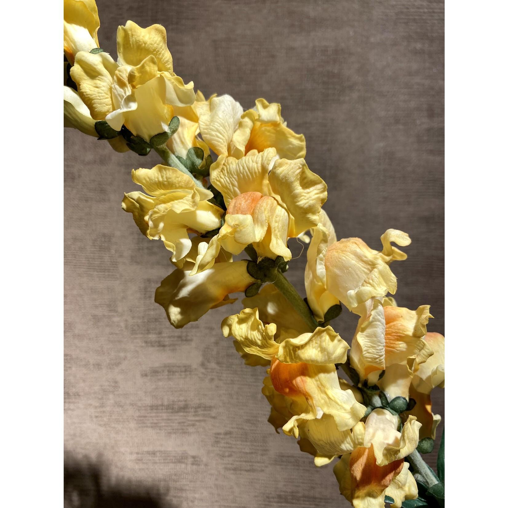 Silk-ka Snapdragon Steel Yellow | 94 cm