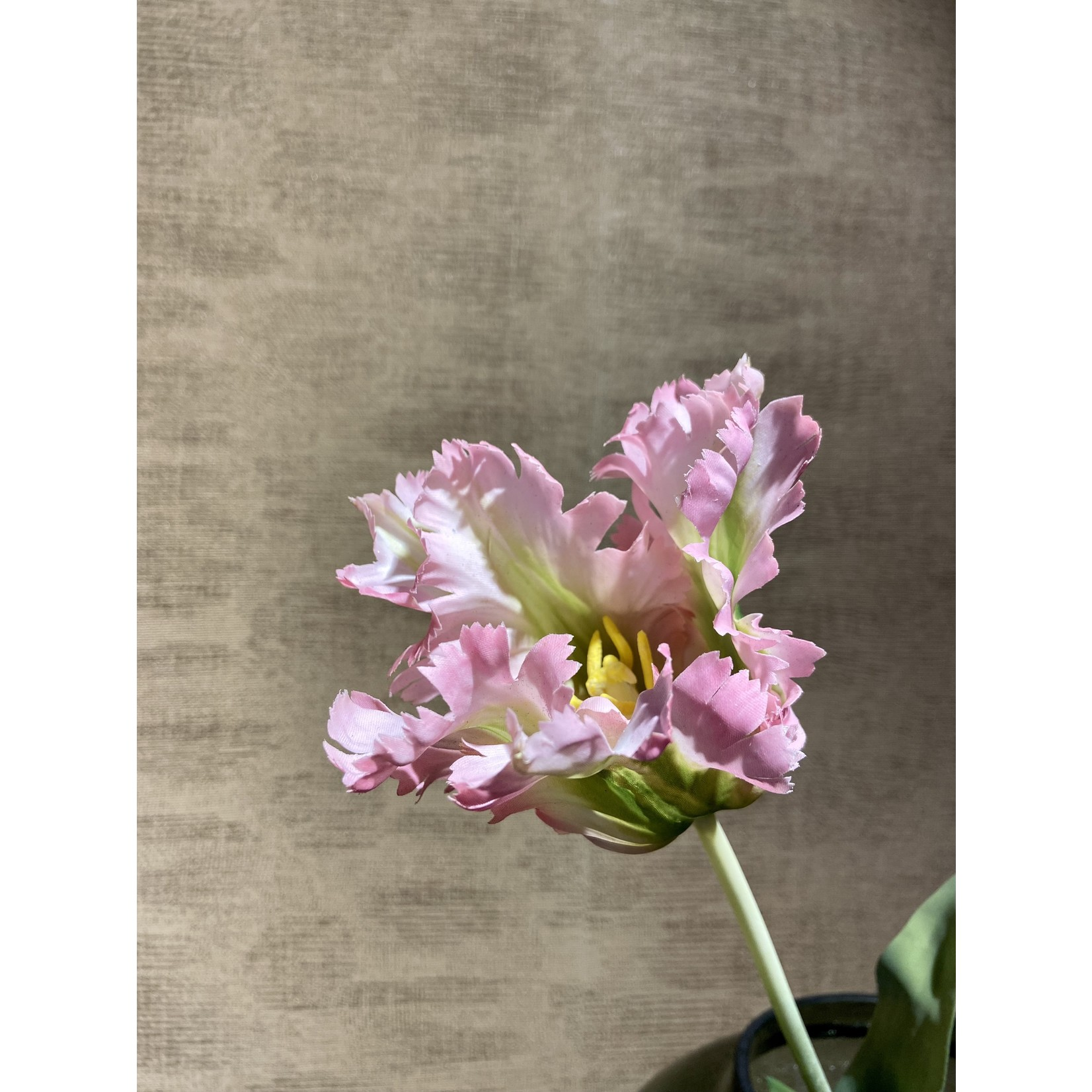 Silk-ka Tulip Lavender / Yellow | 71 cm