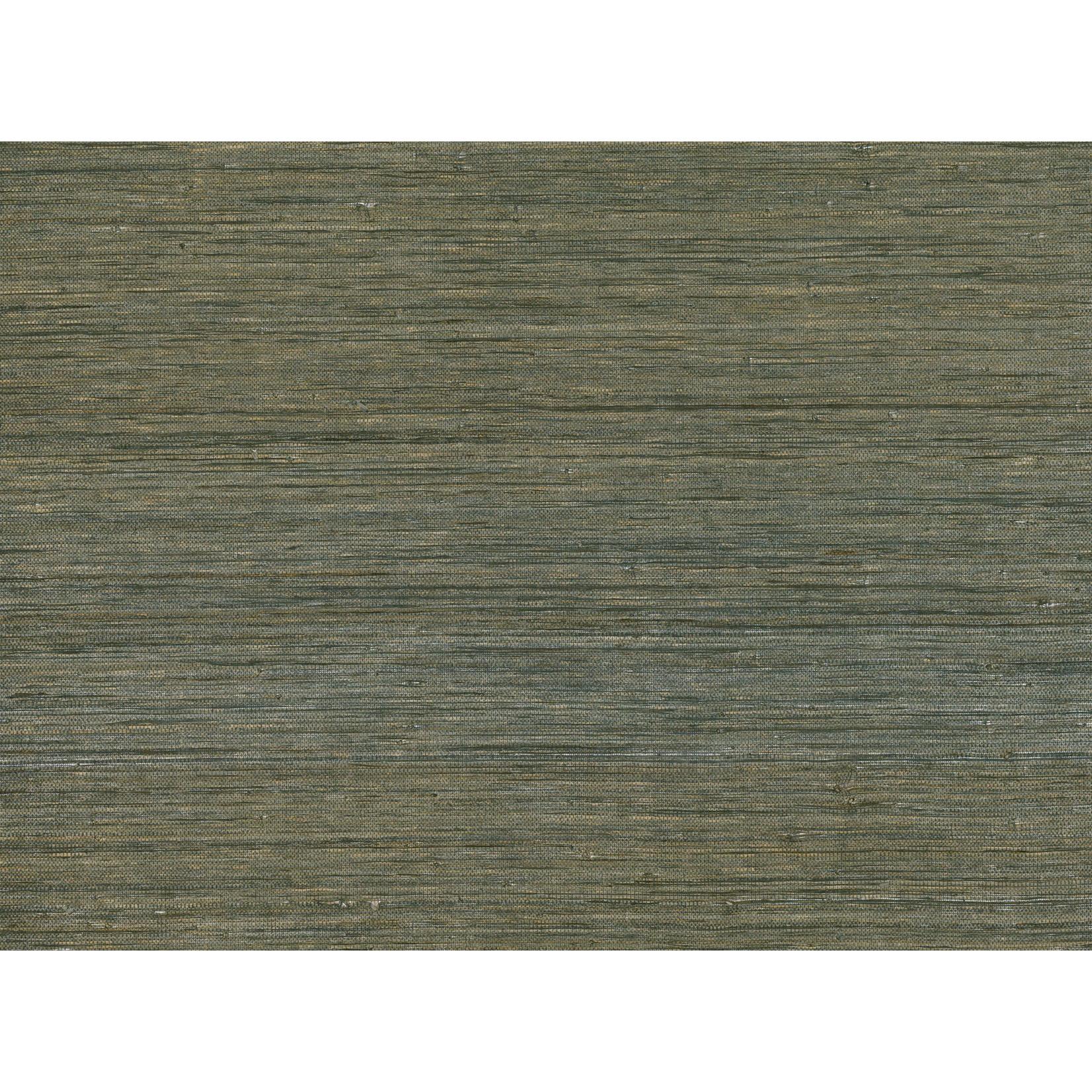 Mark Alexander Grasscloth Handwoven Wallcoverings   Raffia Gunmetal