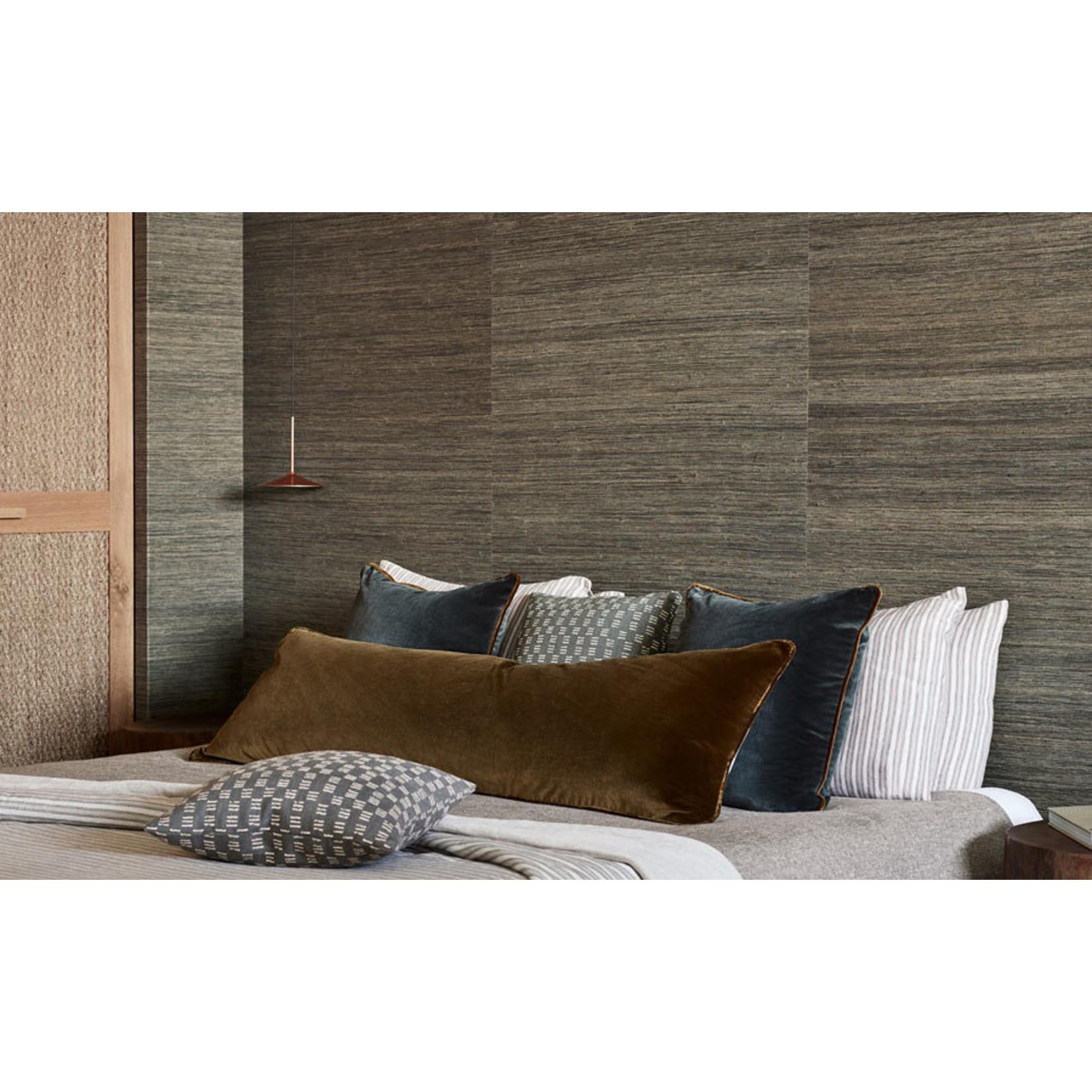 Mark Alexander Grasscloth Handwoven Wallcoverings | Raffia Teal