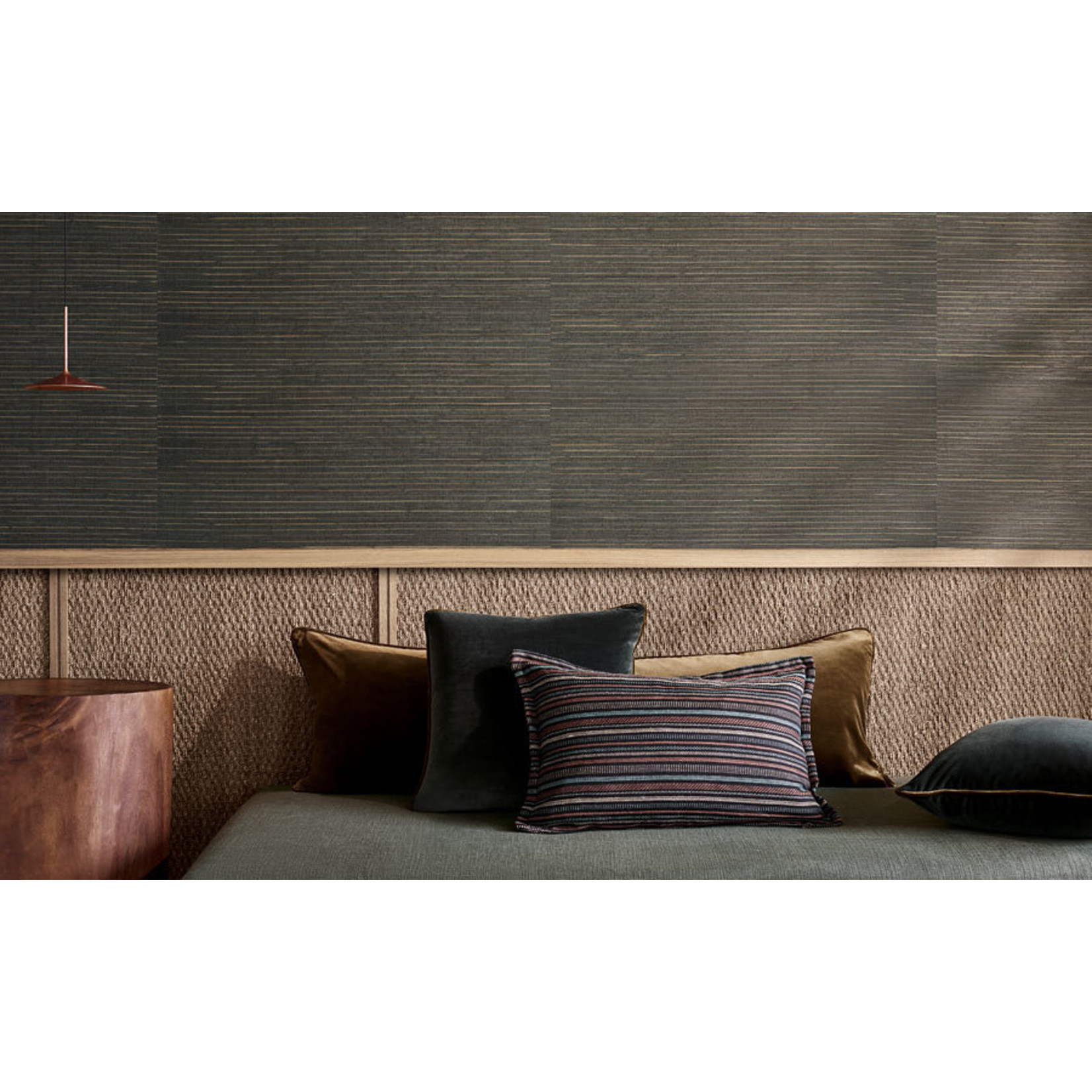 Mark Alexander Grasscloth Handwoven Wallcoverings   Seagrass Metal