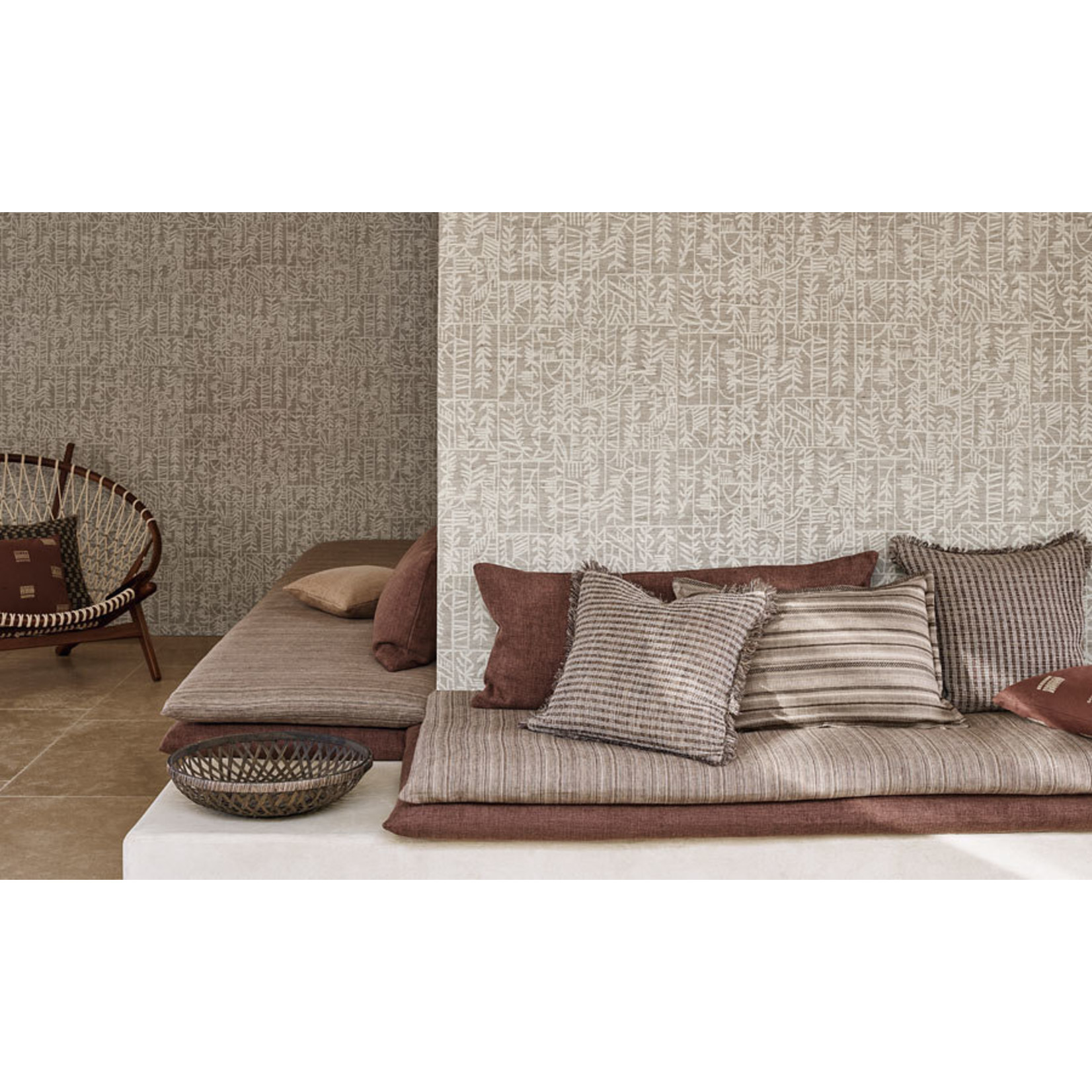 Mark Alexander Collage Handcrafted Wallcoverings | Akata Plaster