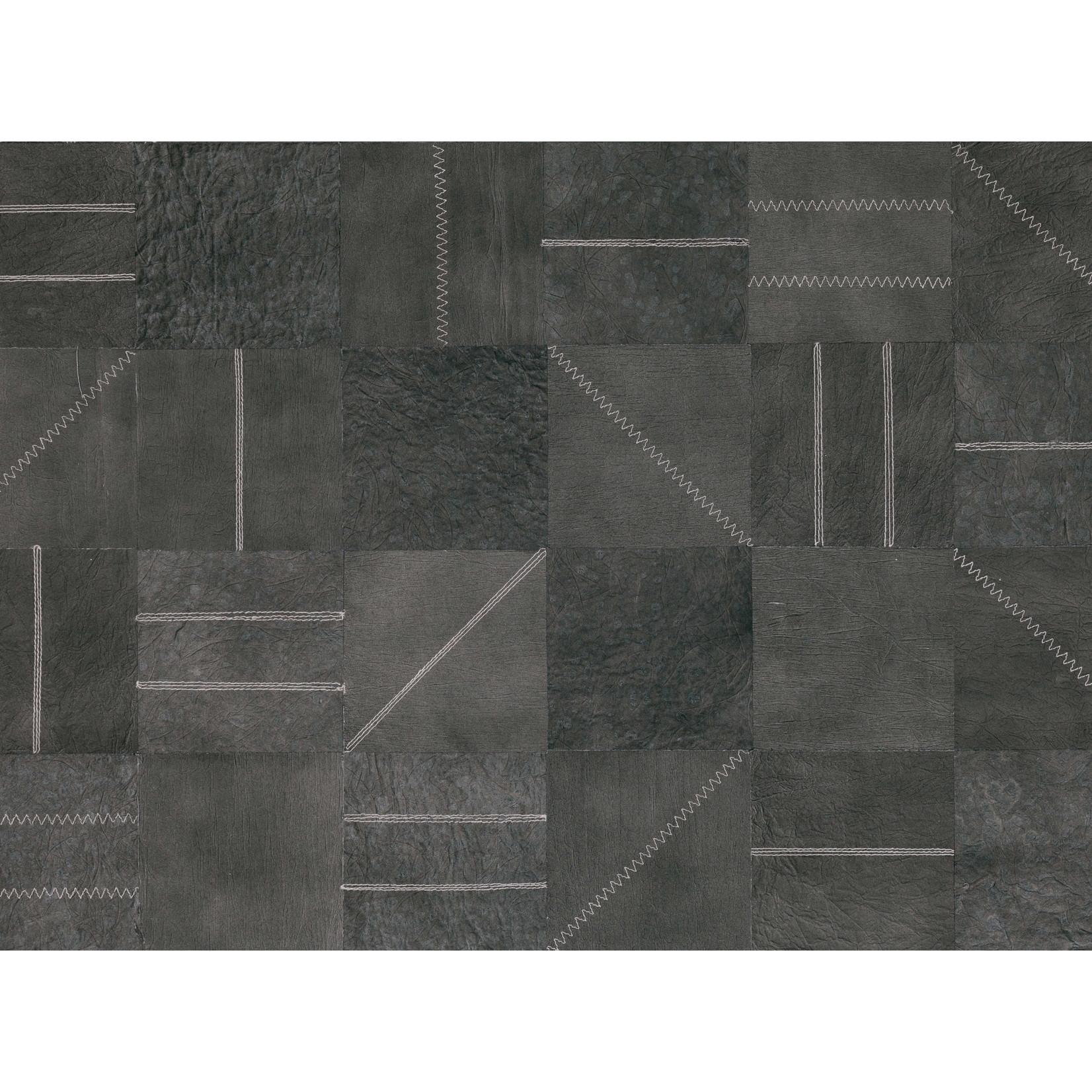 Mark Alexander Collage de revêtements muraux fabriqués à la main   Réseau Métal