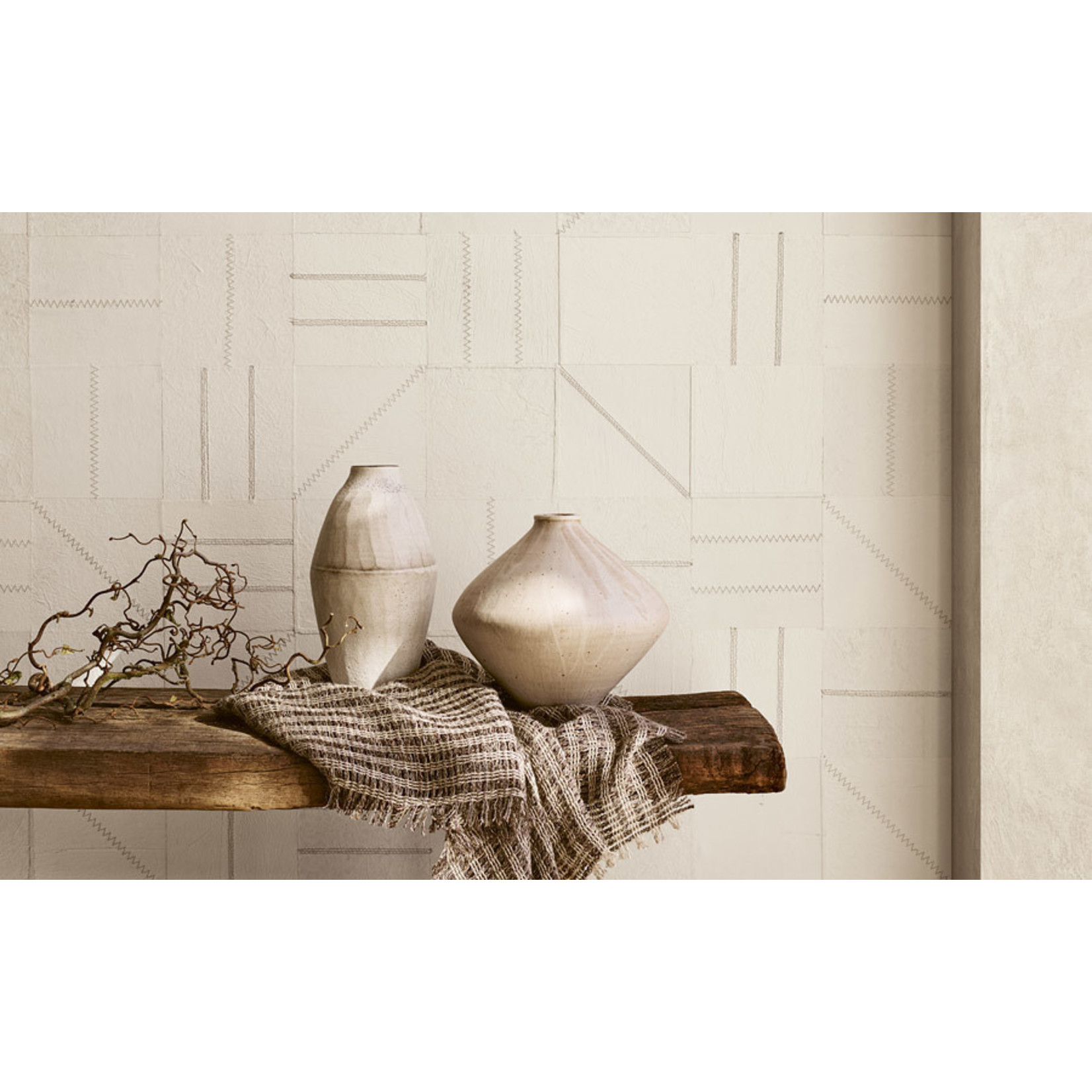 Mark Alexander Collage Handcrafted Wallcoverings | Network Metal