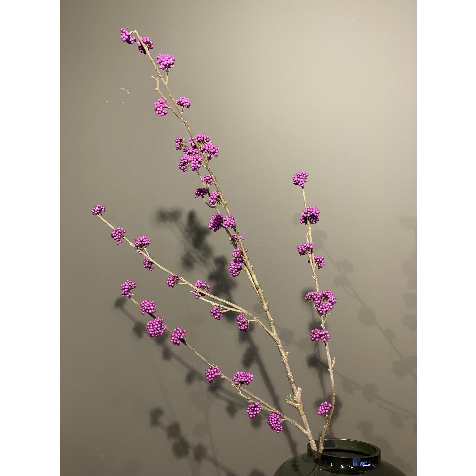 Silk-ka Callicarpa Branche Lavande | 135cm