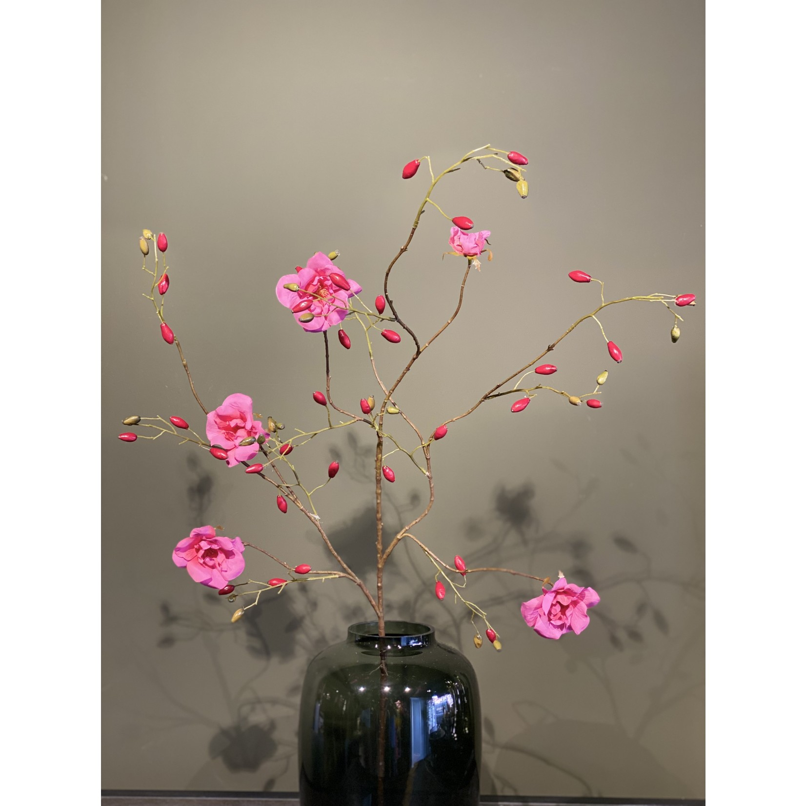 Silk-ka Rose Branch Beauty   135 cm