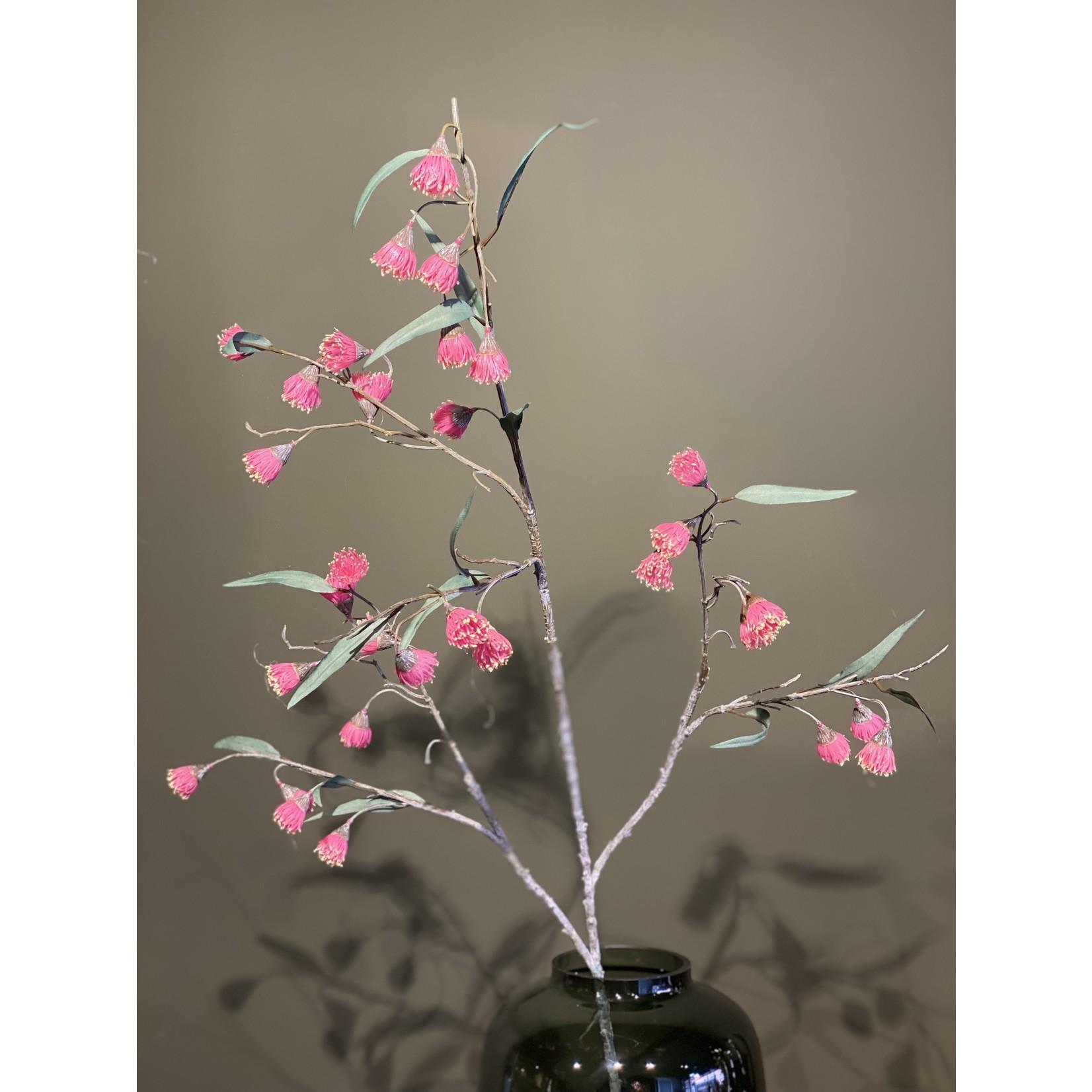 Silk-ka Eucalyptus Bloesem Roze | 130 cm