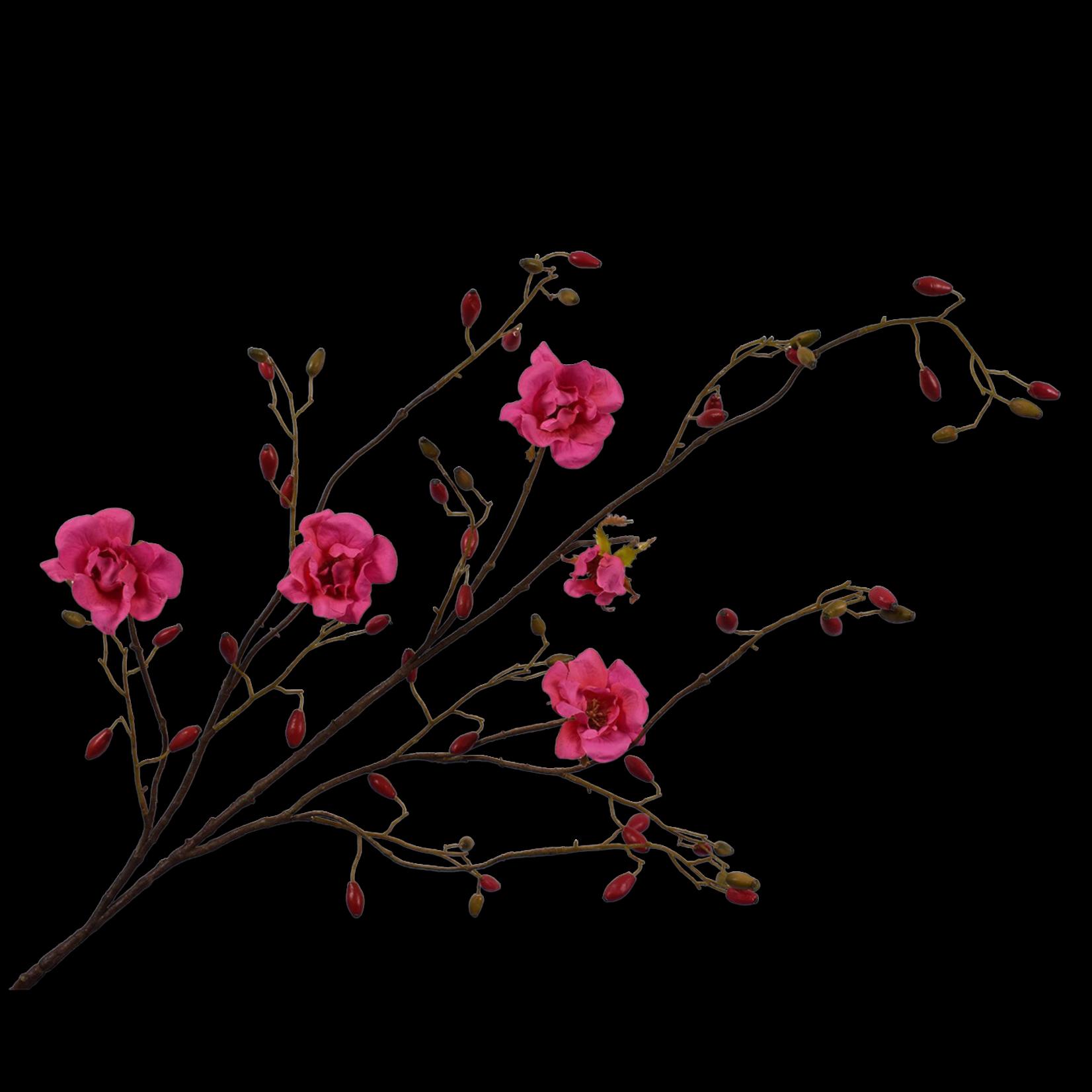 Silk-ka Rose Branche Beauté   135cm