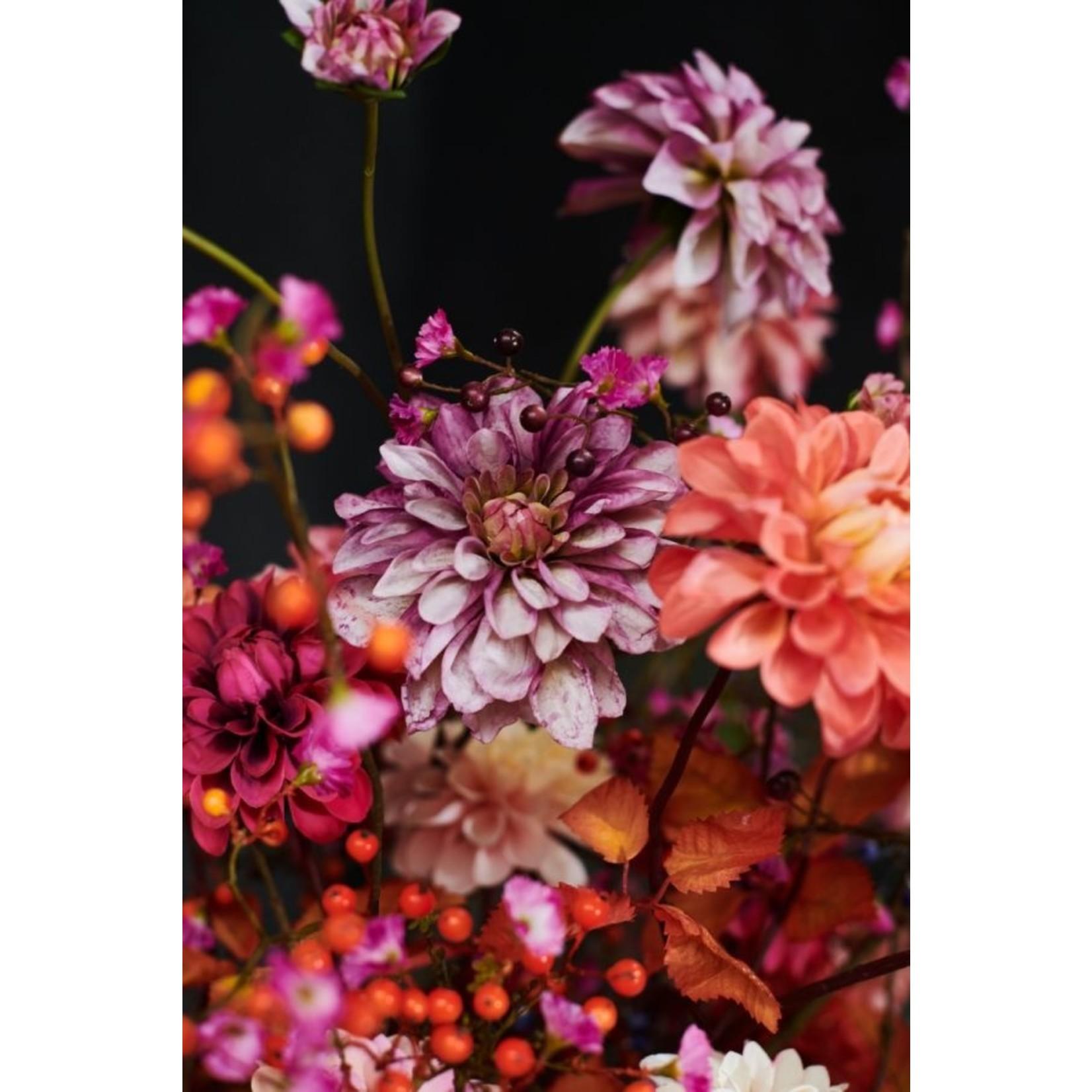 Silk-ka Dahlia Lavendel / Roze | 103 cm