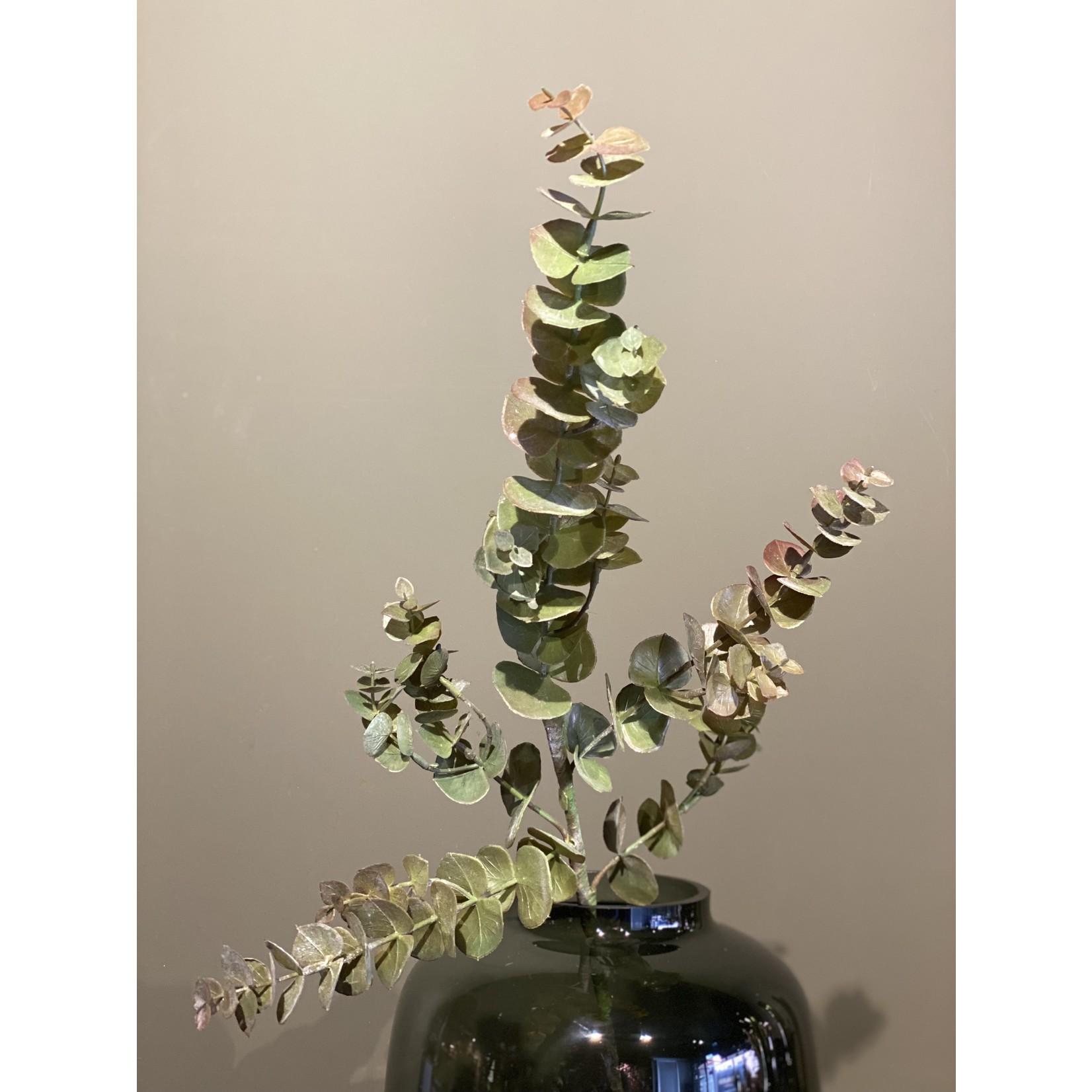 Silk-ka Eucalyptus Tak Bruin / Groen | 81 cm