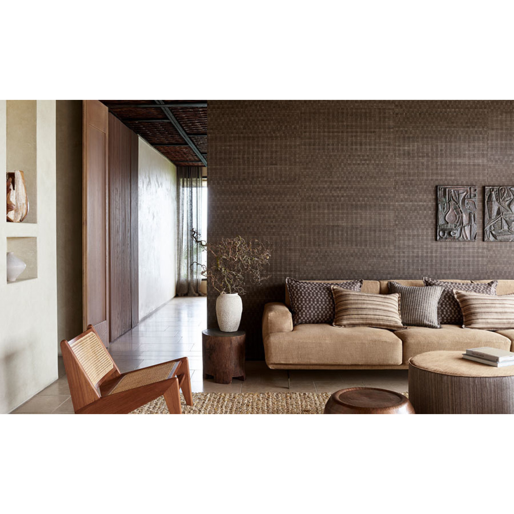 Mark Alexander Collage Handcrafted Wallcoverings | Anagram Metal