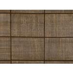 Mark Alexander Collage Handcrafted Wallcoverings | Grid Chestnut