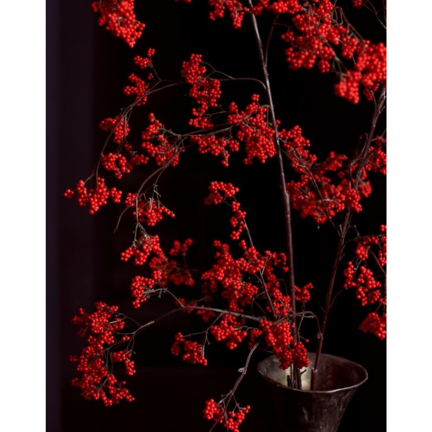 Silk-ka Berry branch Red   137 cm
