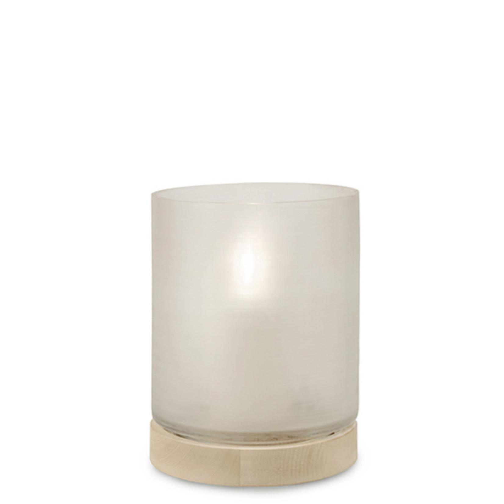 Guaxs Lantern Aran L | Clear / Sycamore